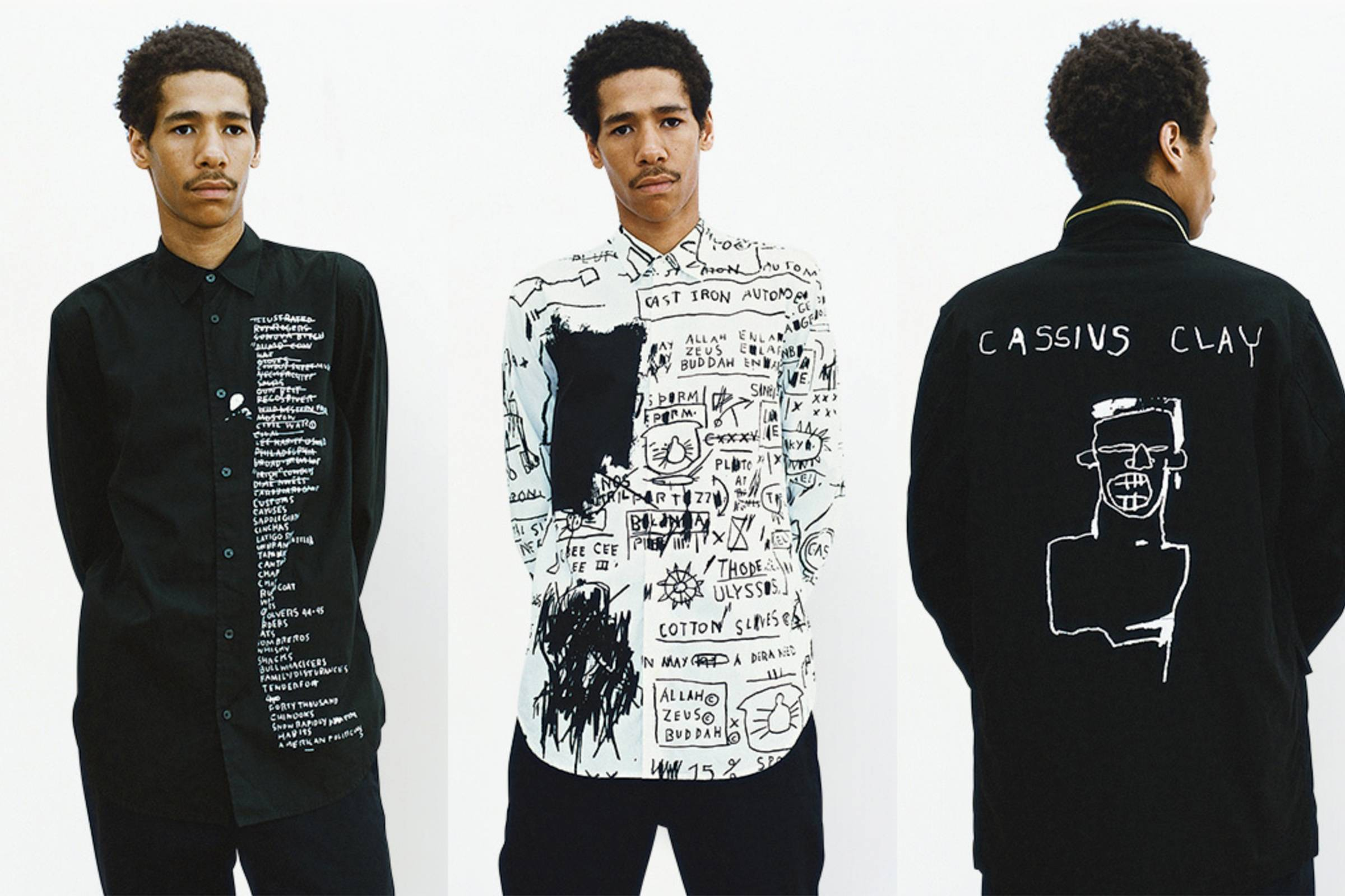 1fc339a905a1 In September 2013, Supreme announced an official collaboration with the  Basquiat Estate. Taking a deep dive into Basquiat's archive, the  collaboration ...