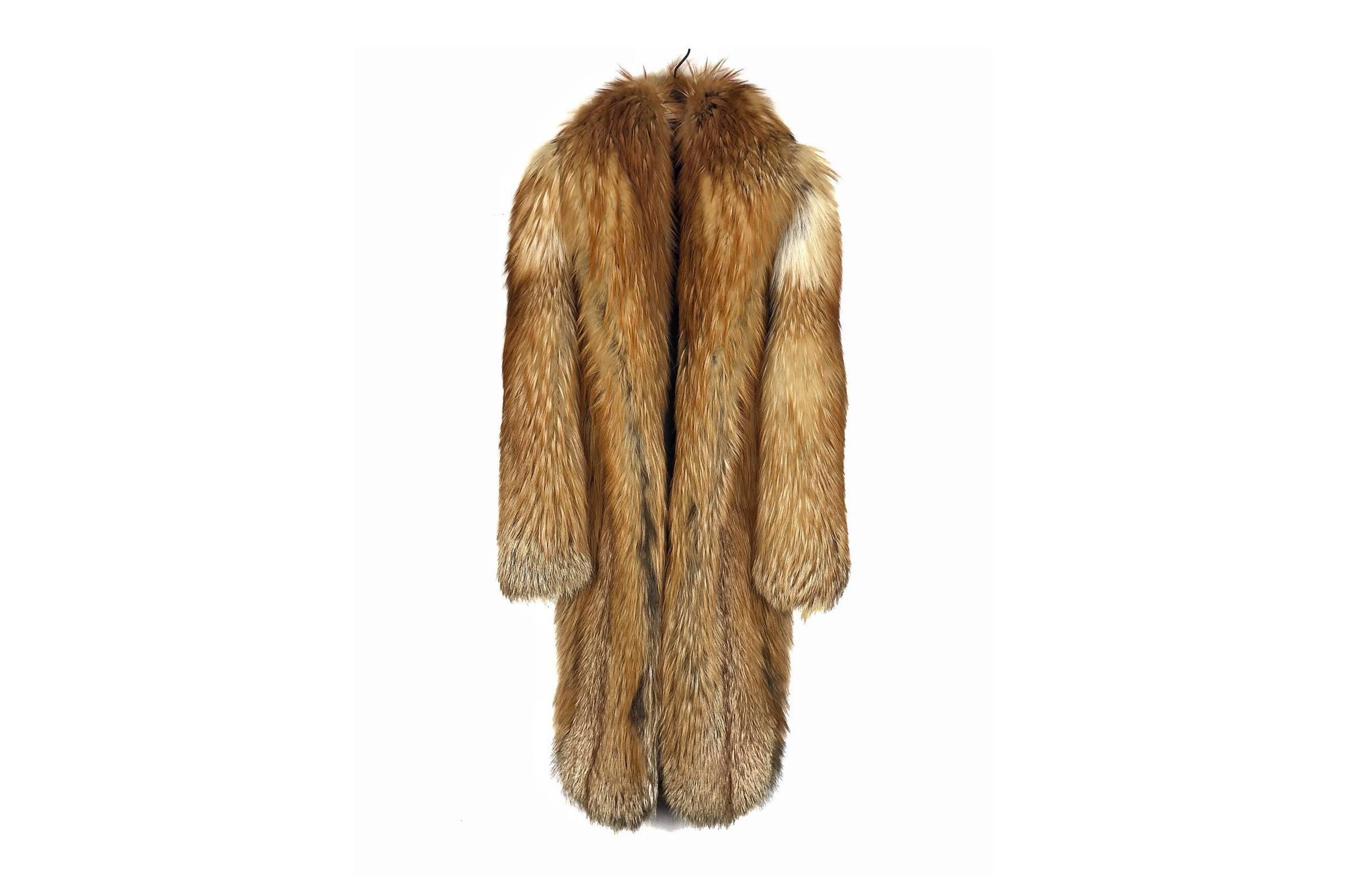Dior Fall/Winter 2006 Fox Fur Coat