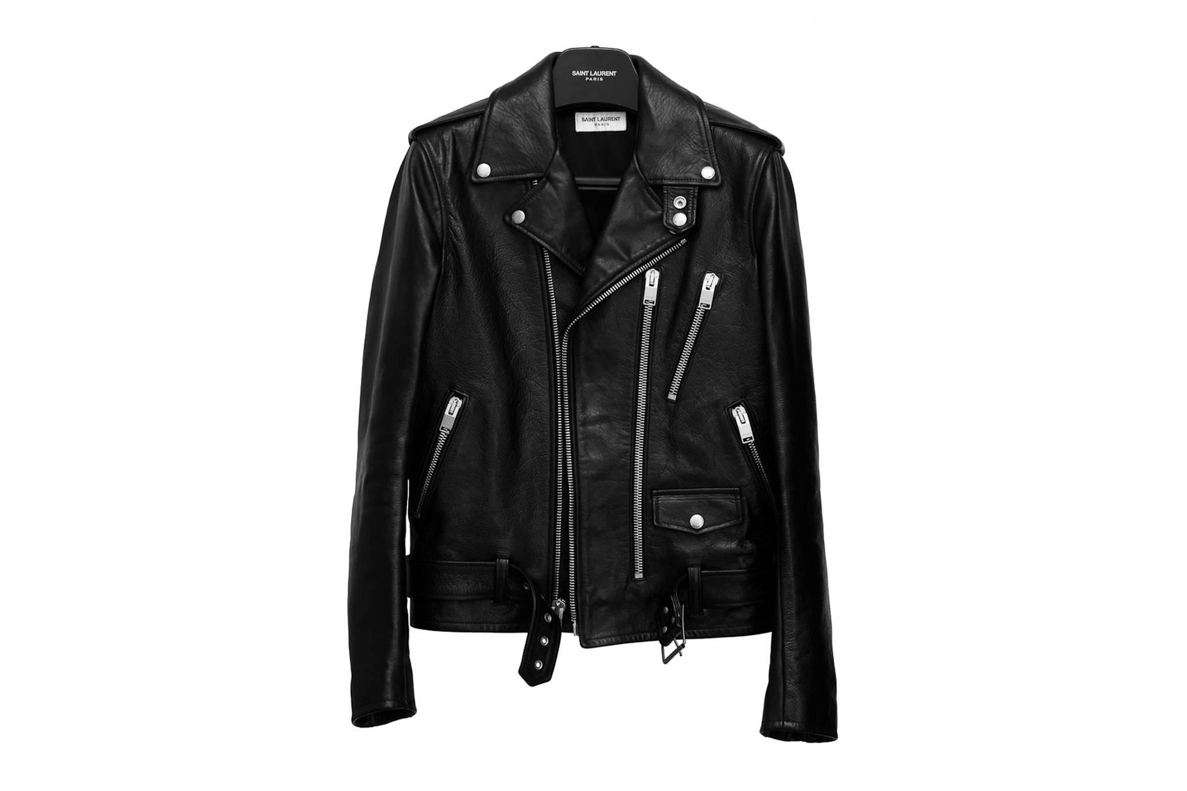 Saint Laurent Paris Fall/Winter 2013 L17 Leather Jacket