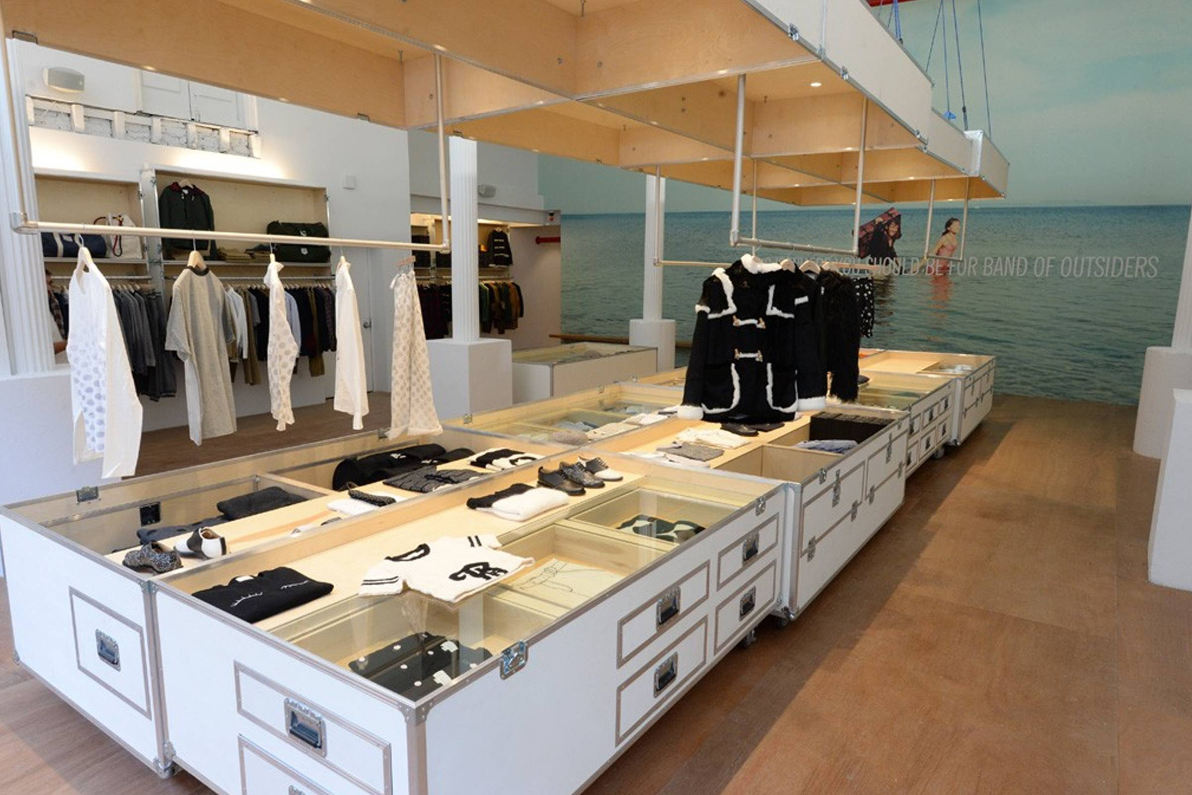 Band of Outsiders' SoHo store in New York City