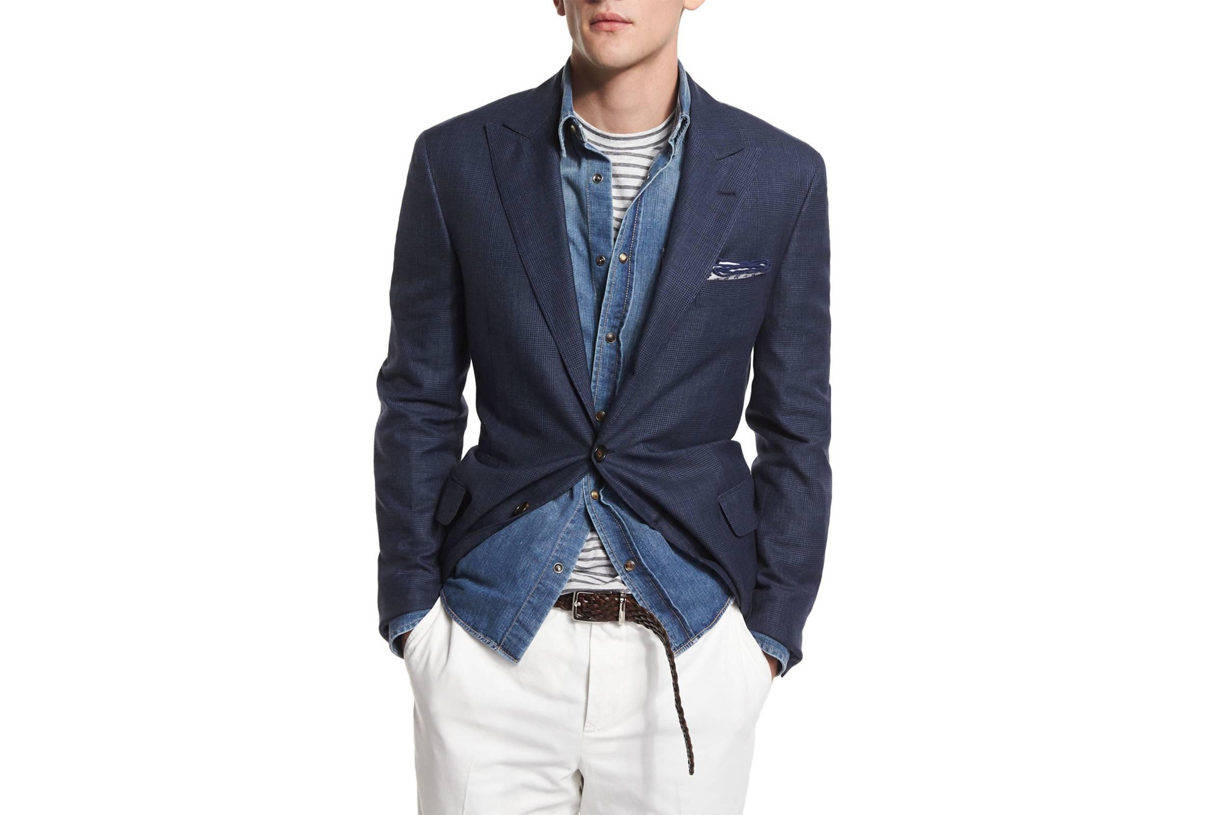 The Perfect Blue Blazer