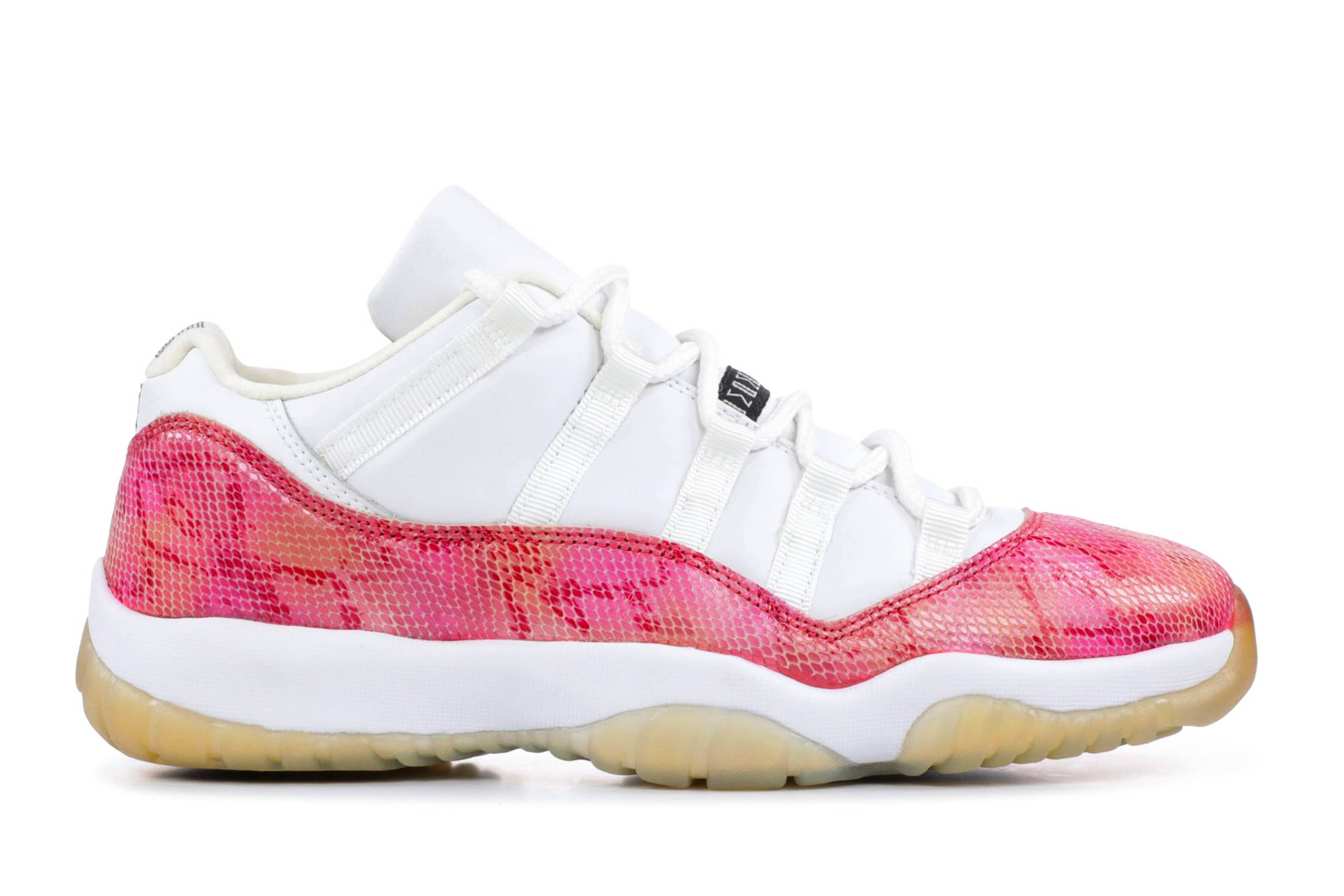 air jordan 11 retro low pink snakeskin