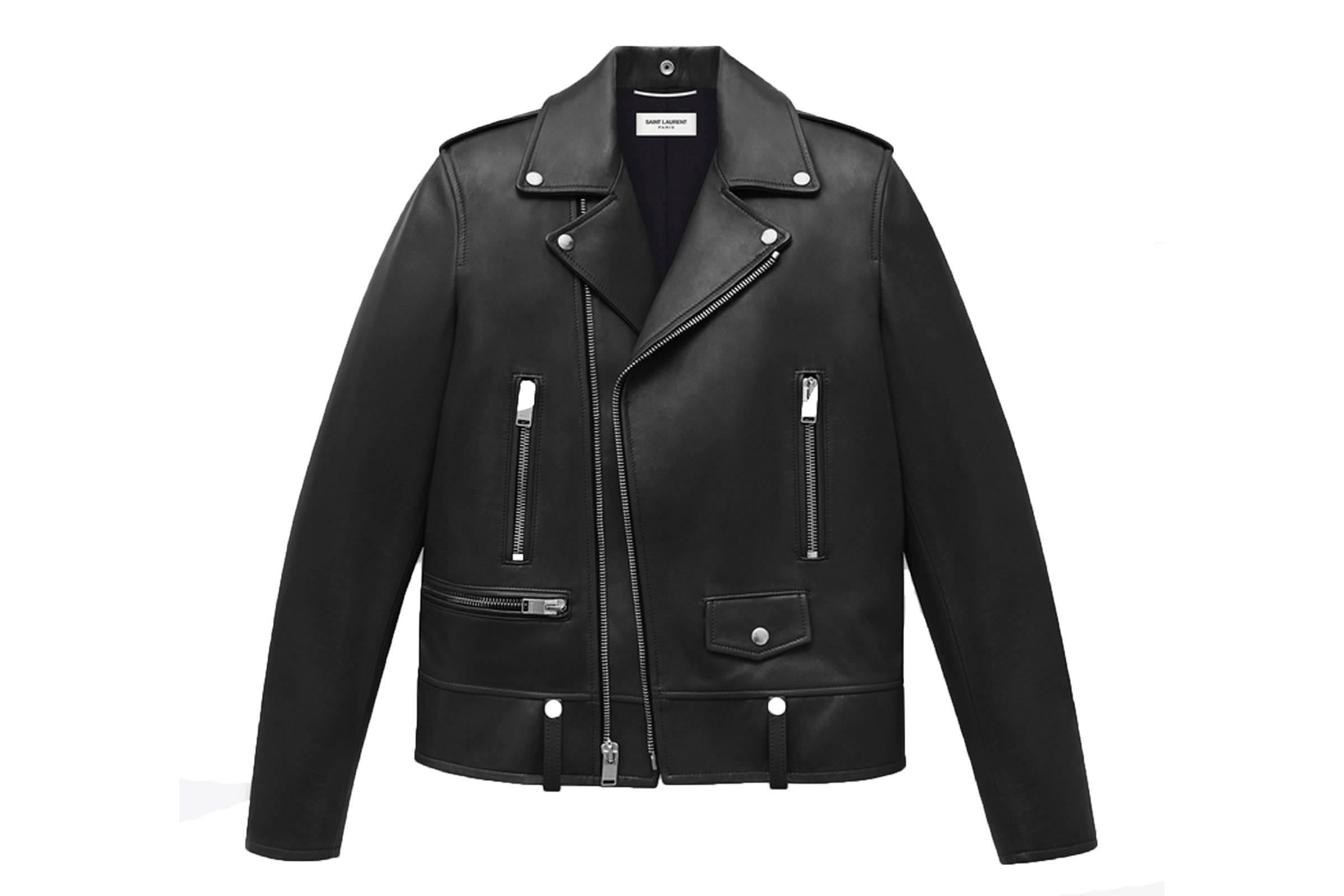Saint Laurent Paris L01 Leather Jacaket