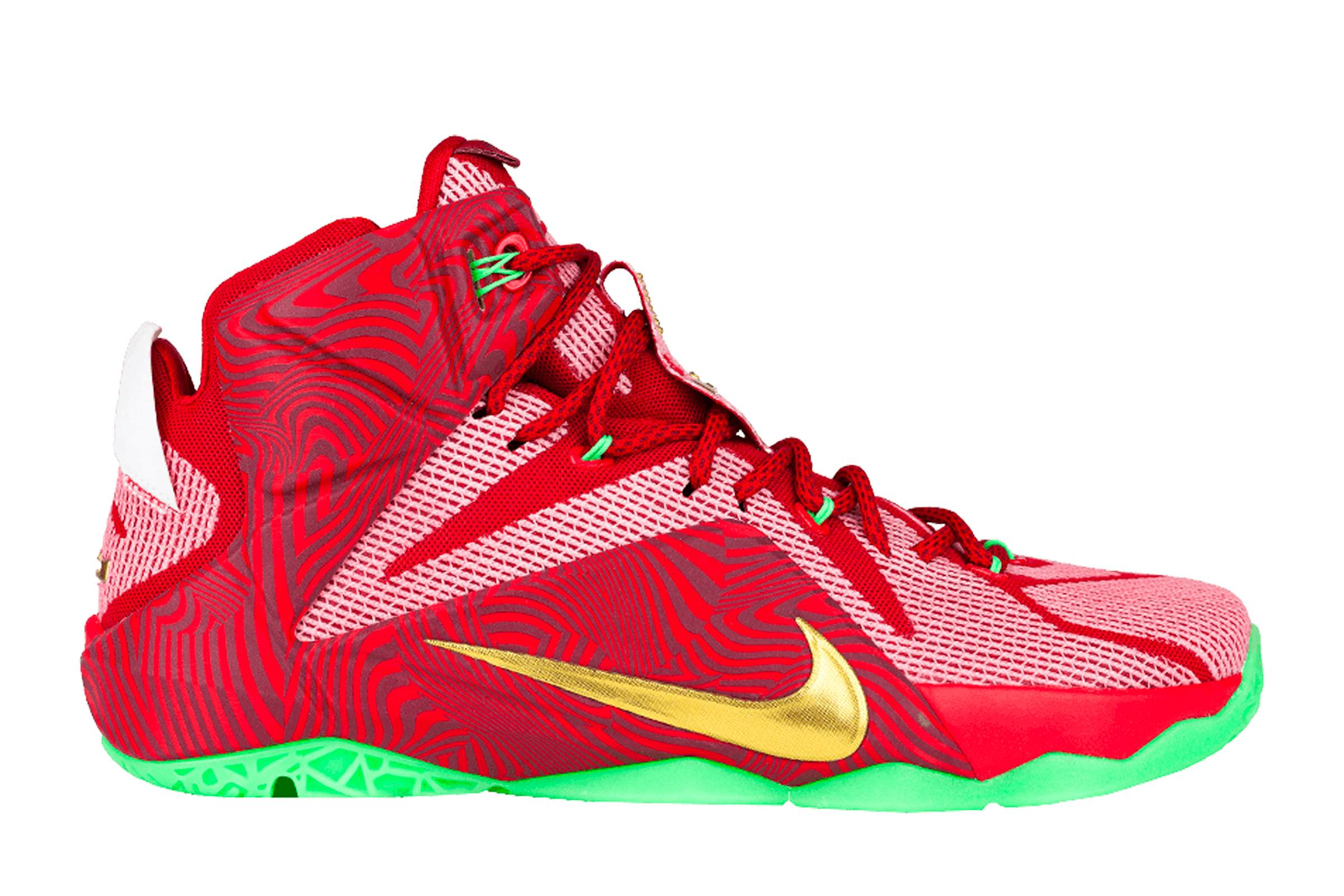 """Nike LeBron XII """"Sprite Mix"""""""