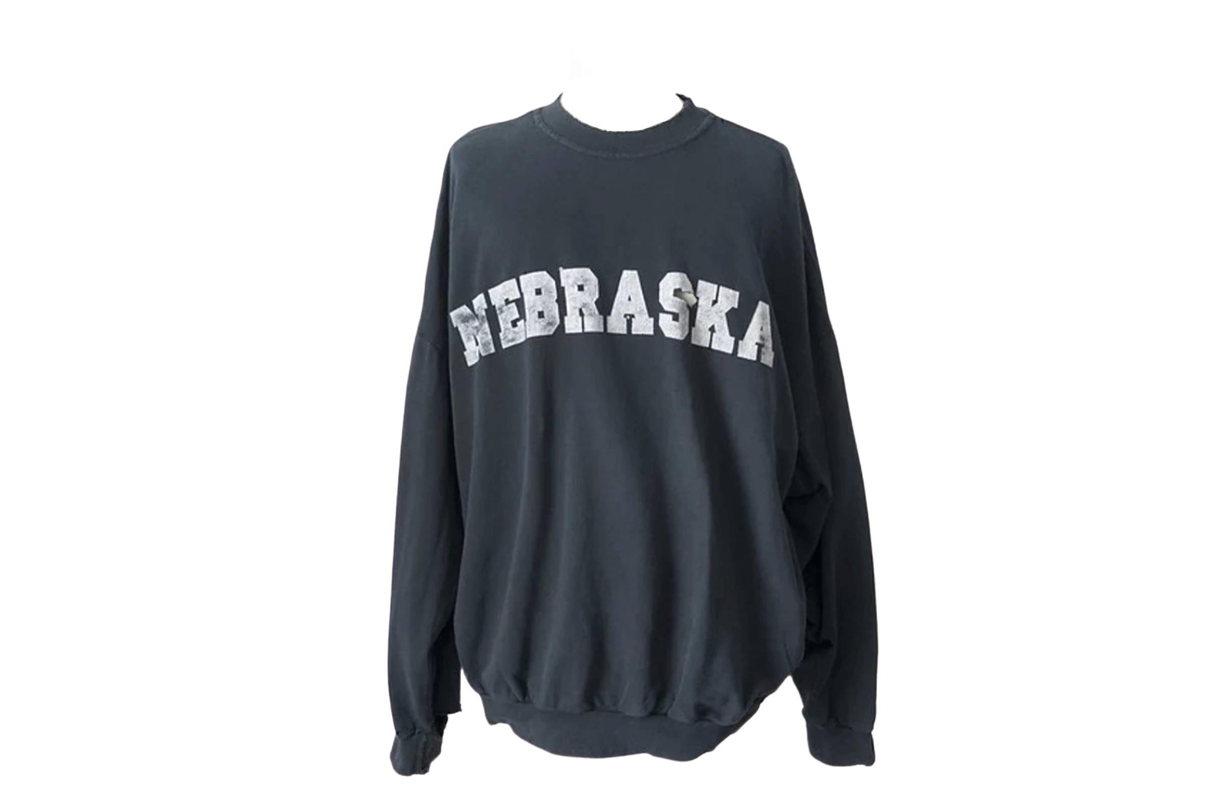 Raf Simons Fall/Winter 2002 Nebraska Sweatshirt