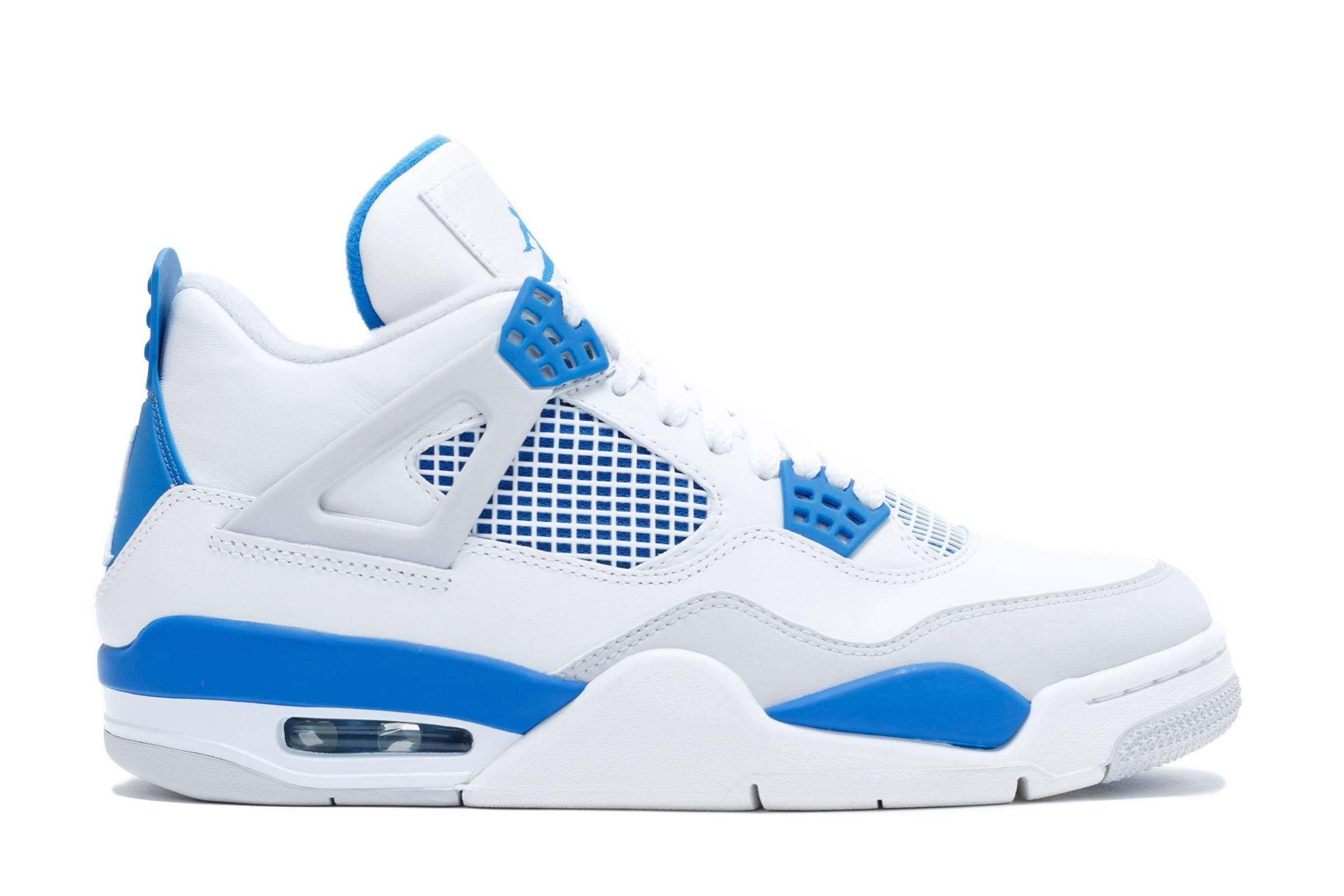 "Air Jordan 4 Retro ""Military Blue"" (2012)"