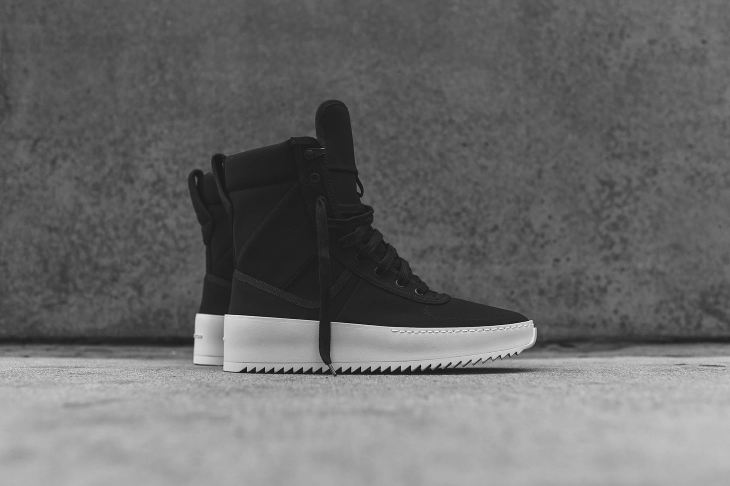 Surfaced: Fear of God Military Sneaker