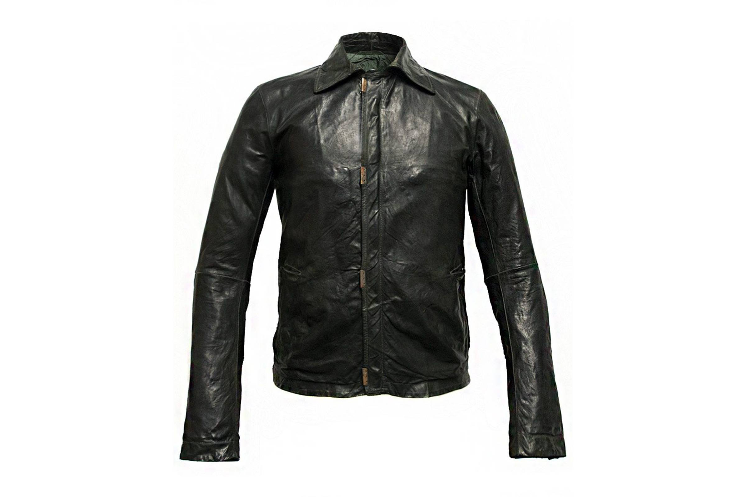 Carol Christian Poell LM/2498 CORS-10 Scarstitch Leather Jacket