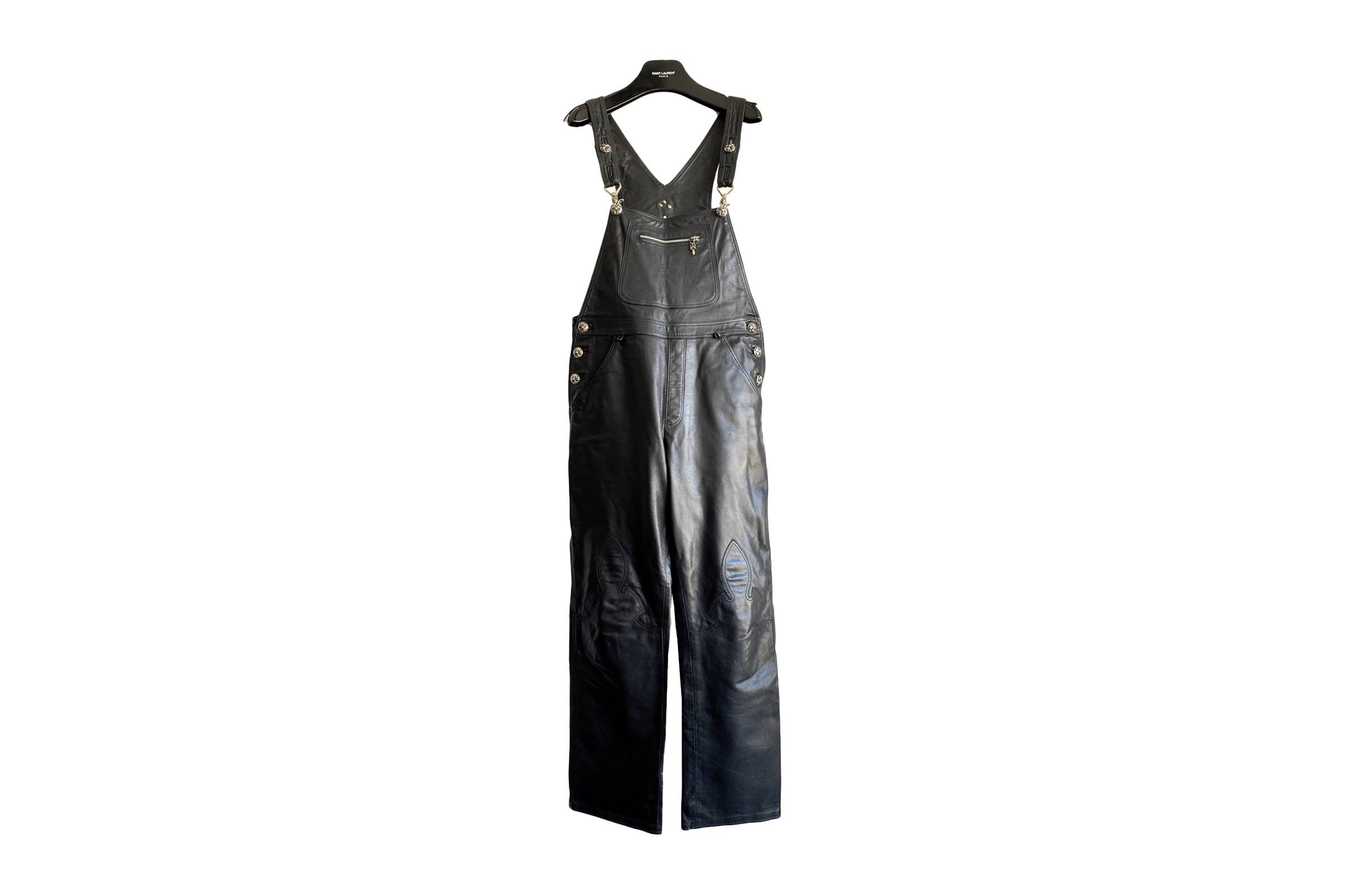Chrome Hearts Leather Overalls