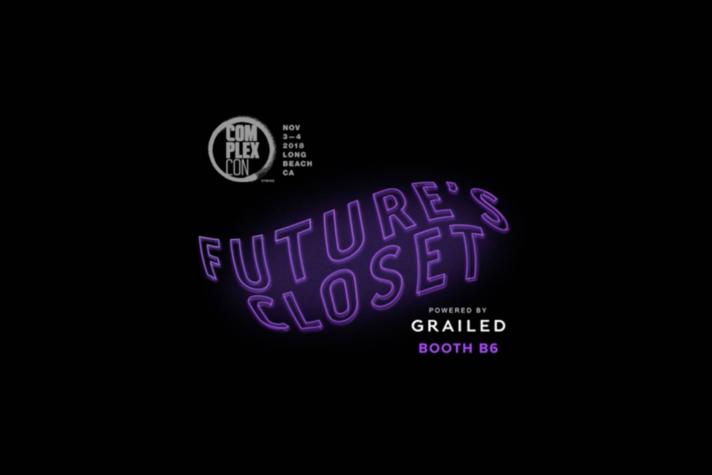 Live from ComplexCon: Future's Closet Powered By Grailed