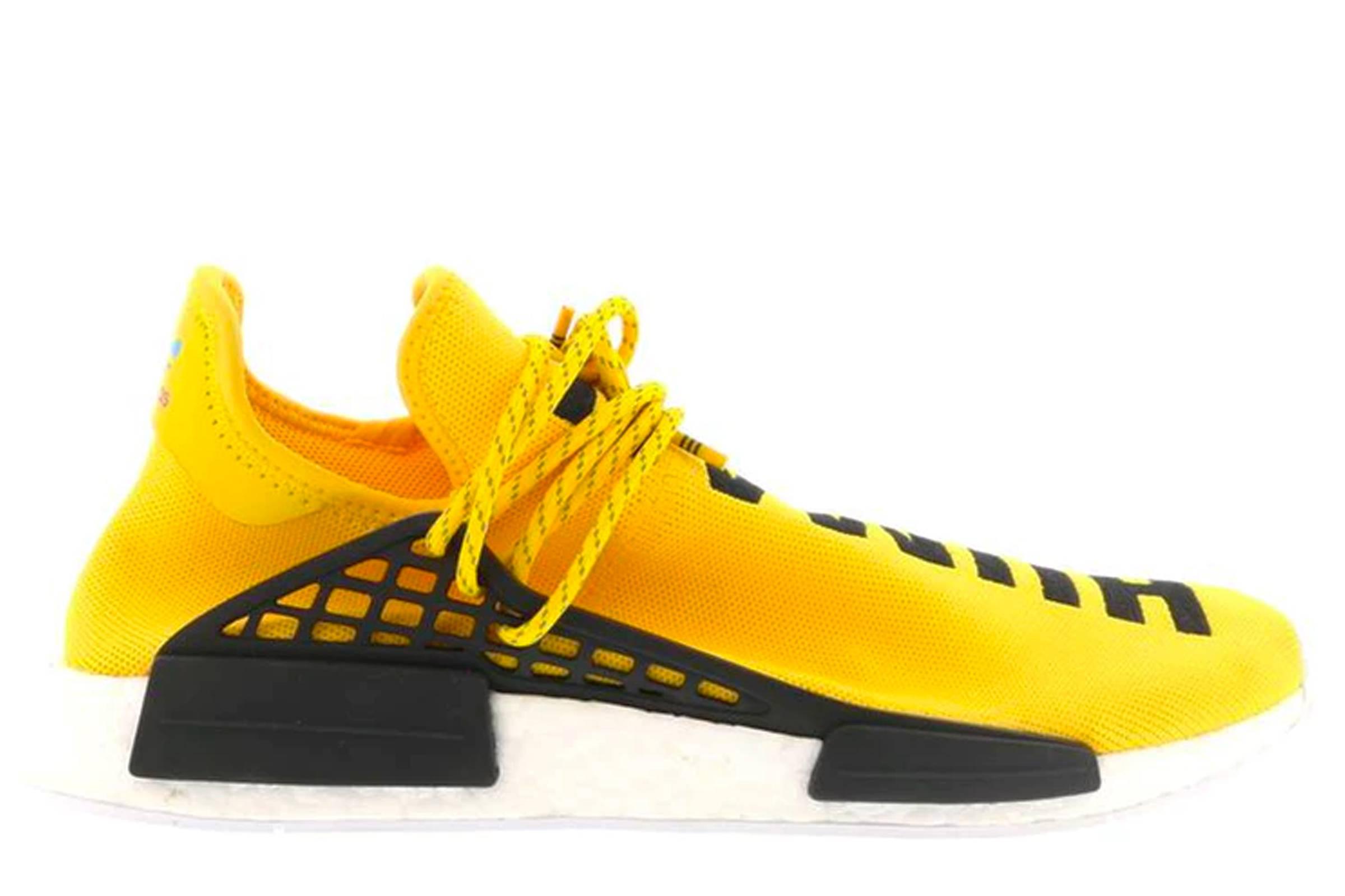 "adidas x Pharrell Williams HU NMD ""Human Race"", Yellow Version (2016)"