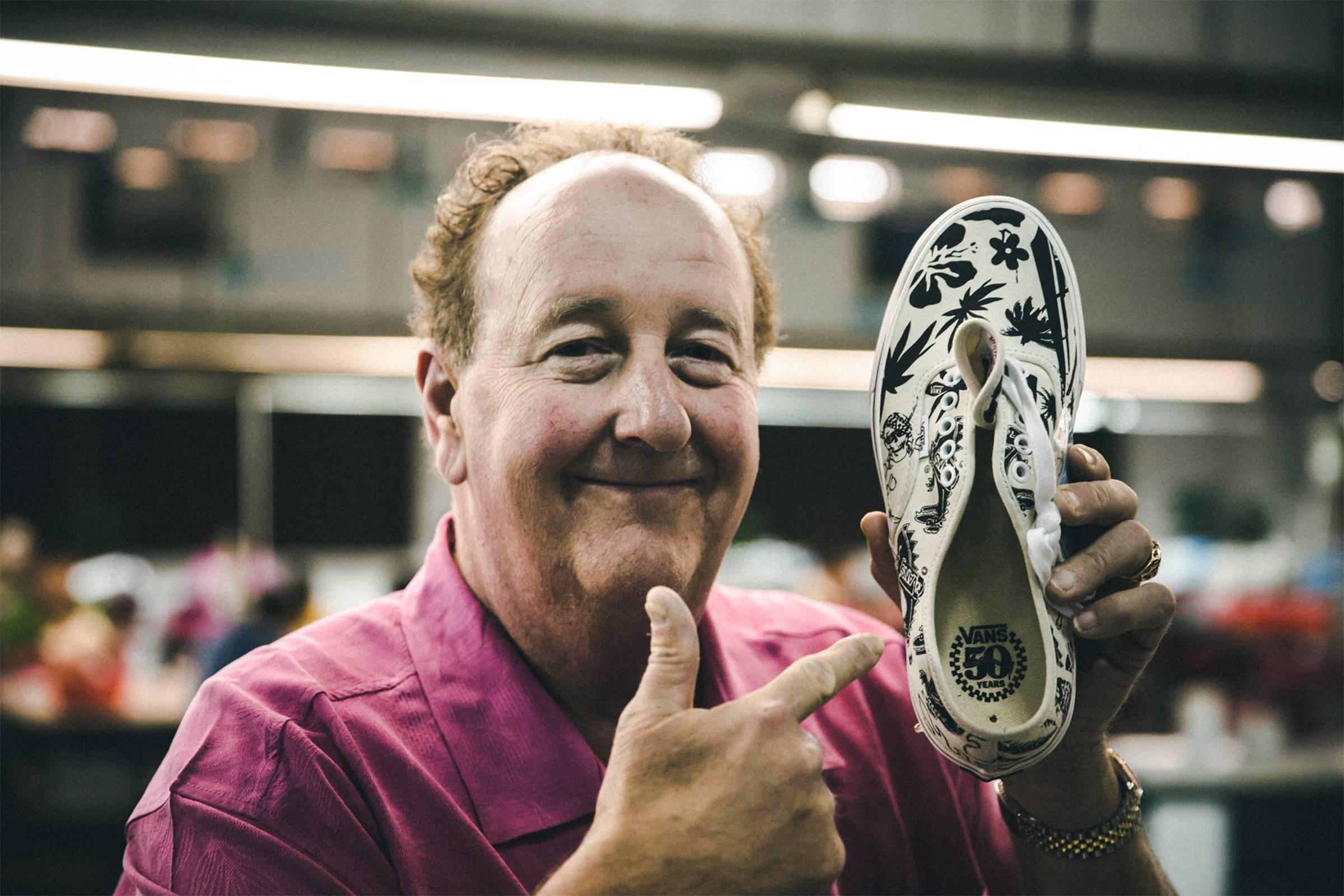 Steve Van Doren celebrates 50 years of Vans