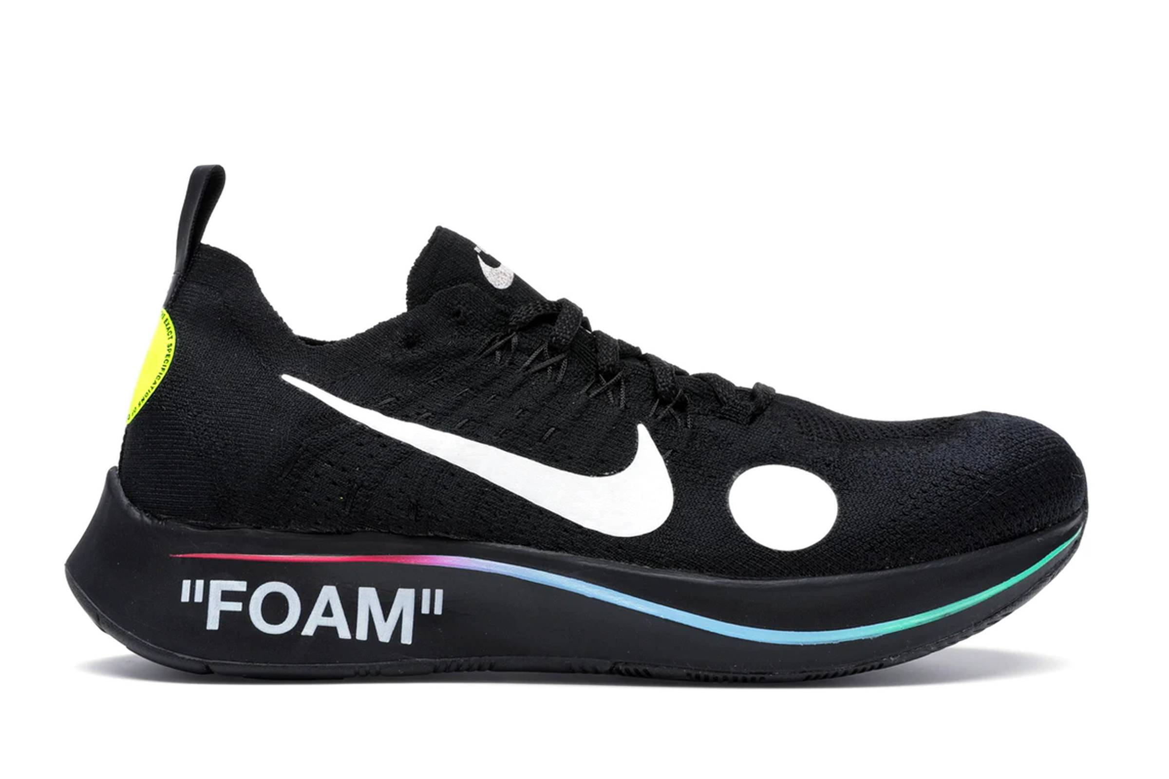 "Off-White x Nike Zoom Fly Mercurial ""Black"""