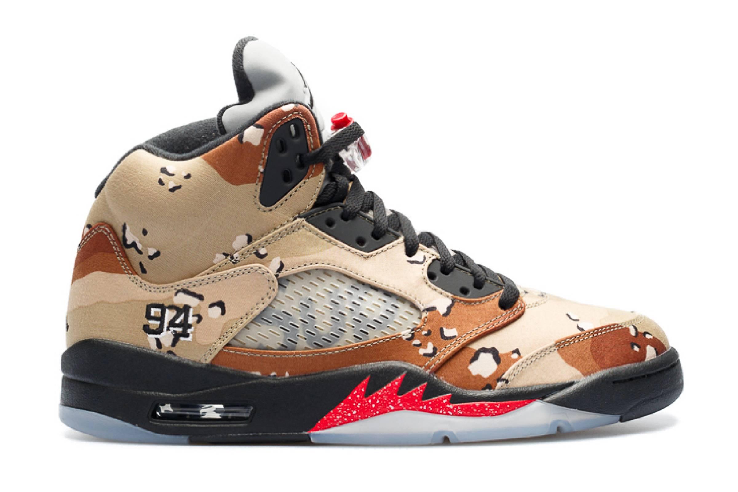 Supreme x Nike Air Jordan V (2015)