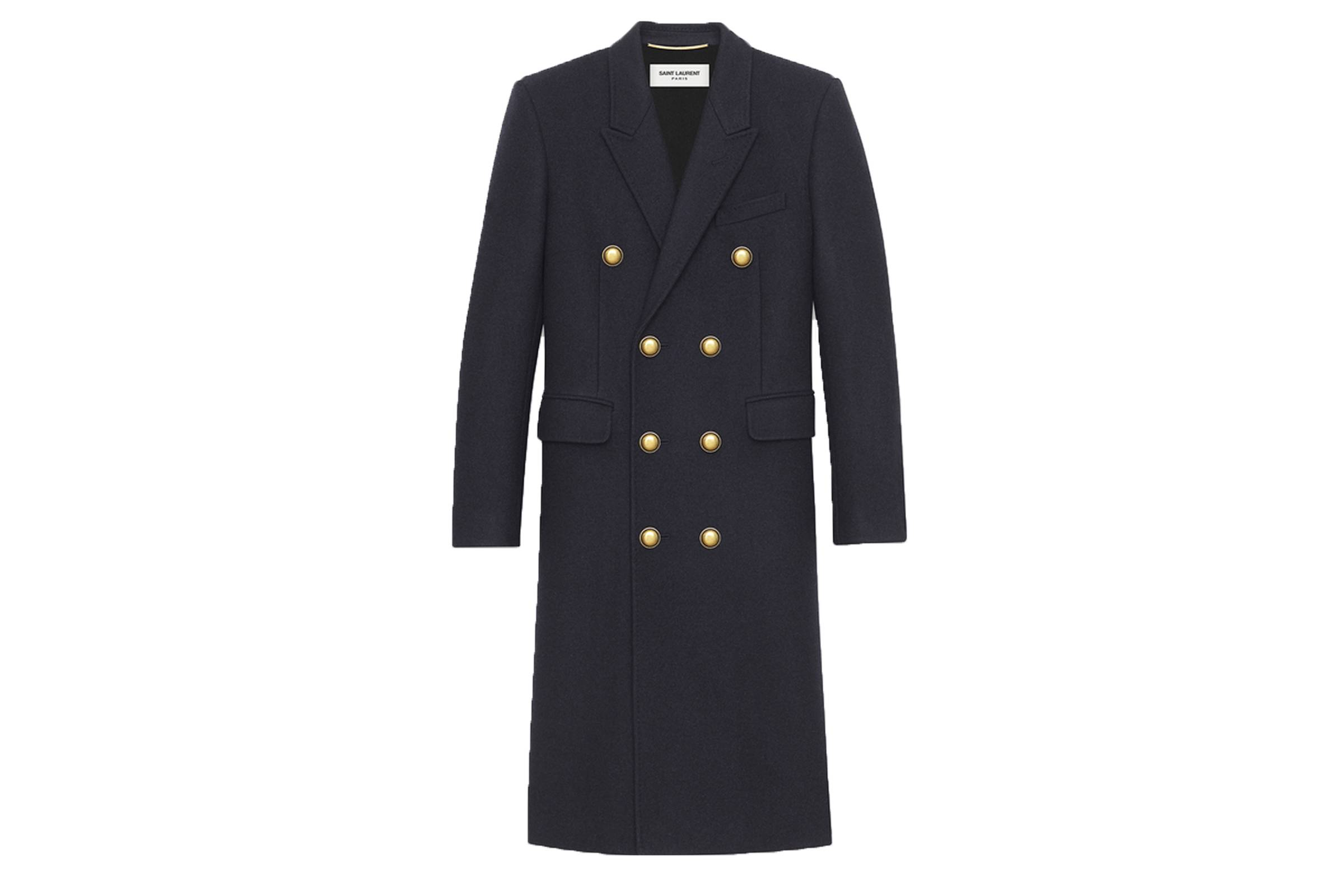 Saint Laurent Paris Allure Officer Coat