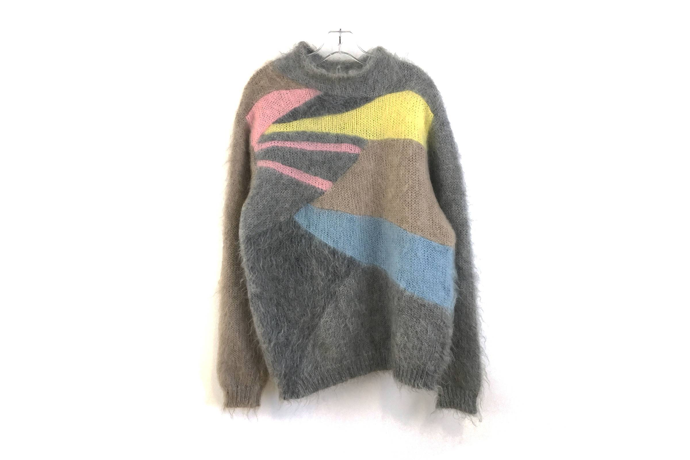 """Undercover Fall/Winter 2002 """"Witch's Cell Division"""" Mohair Sweater"""