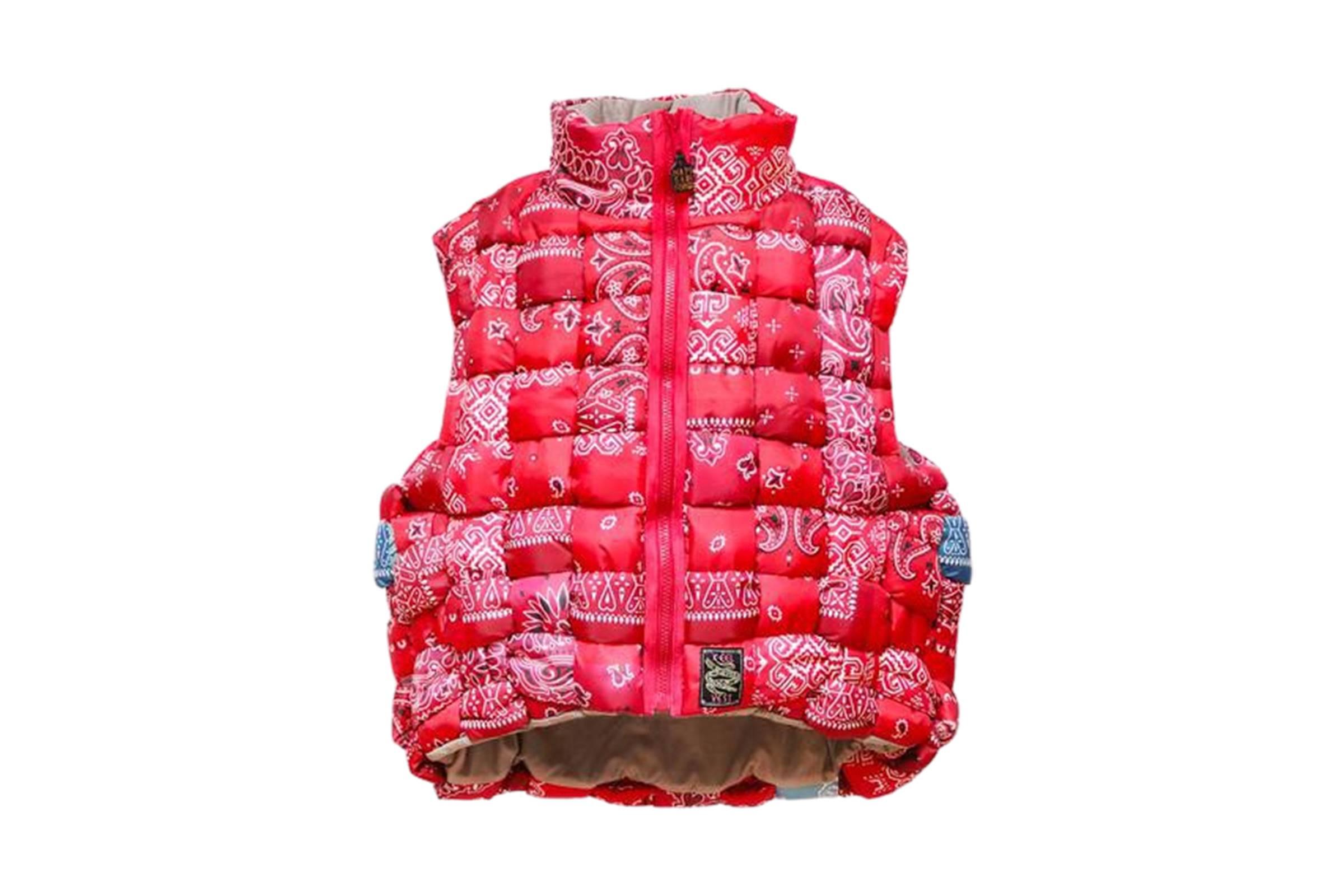 Kapital Keel Paisley Bandana Vest