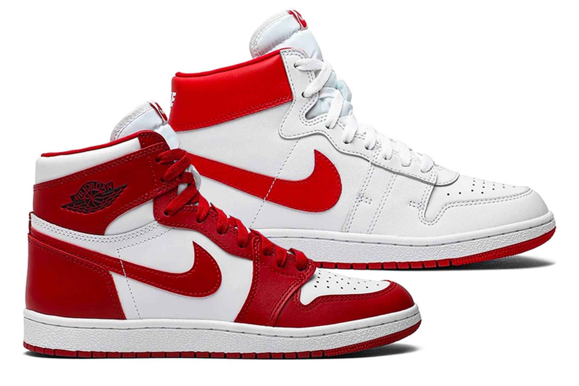 "(from top) Nike Air Ship and Air Jordan 1 ""New Beginnings Pack"""