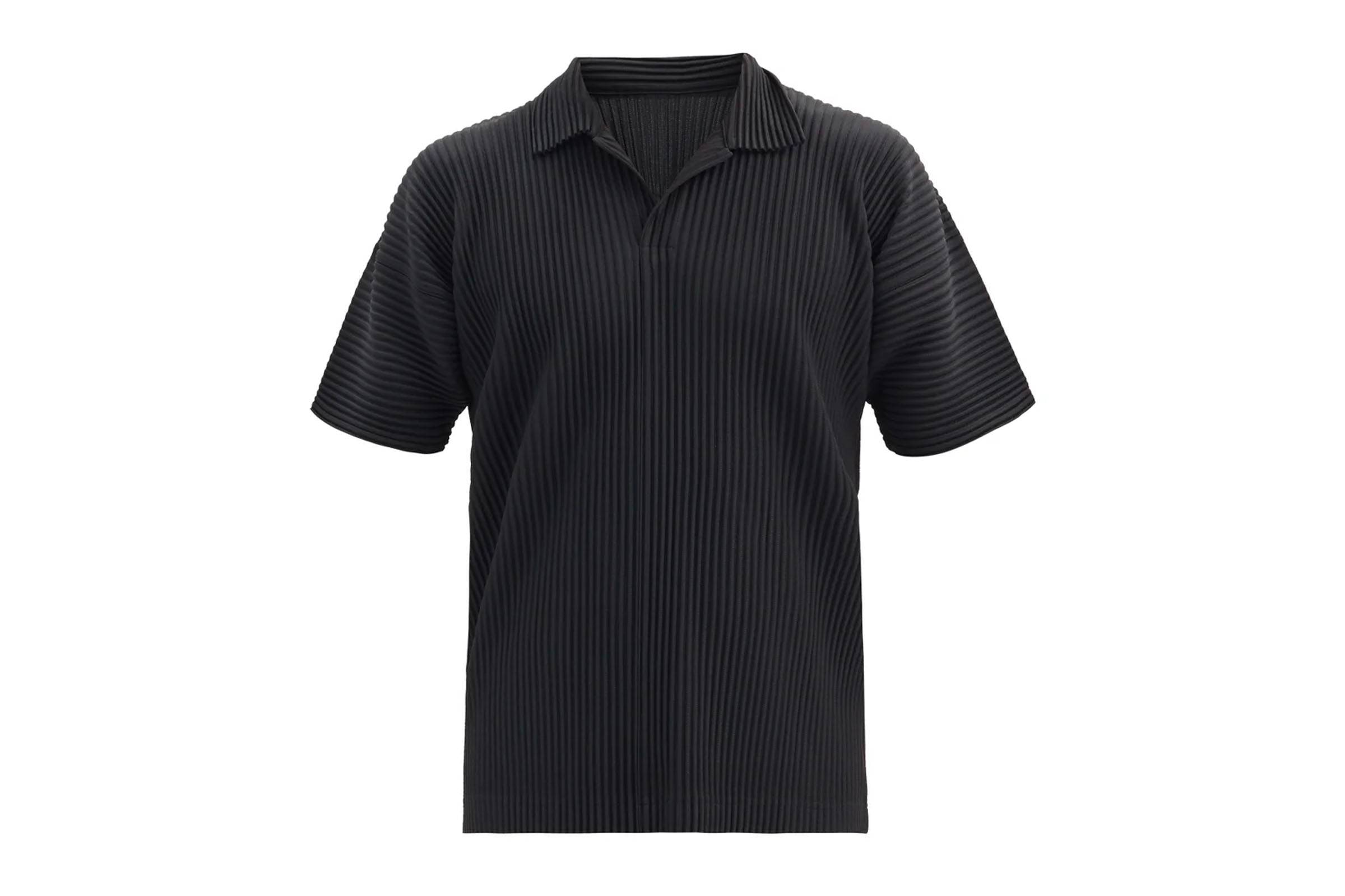 Homme Plissé Issey Miyake Pleated Polo