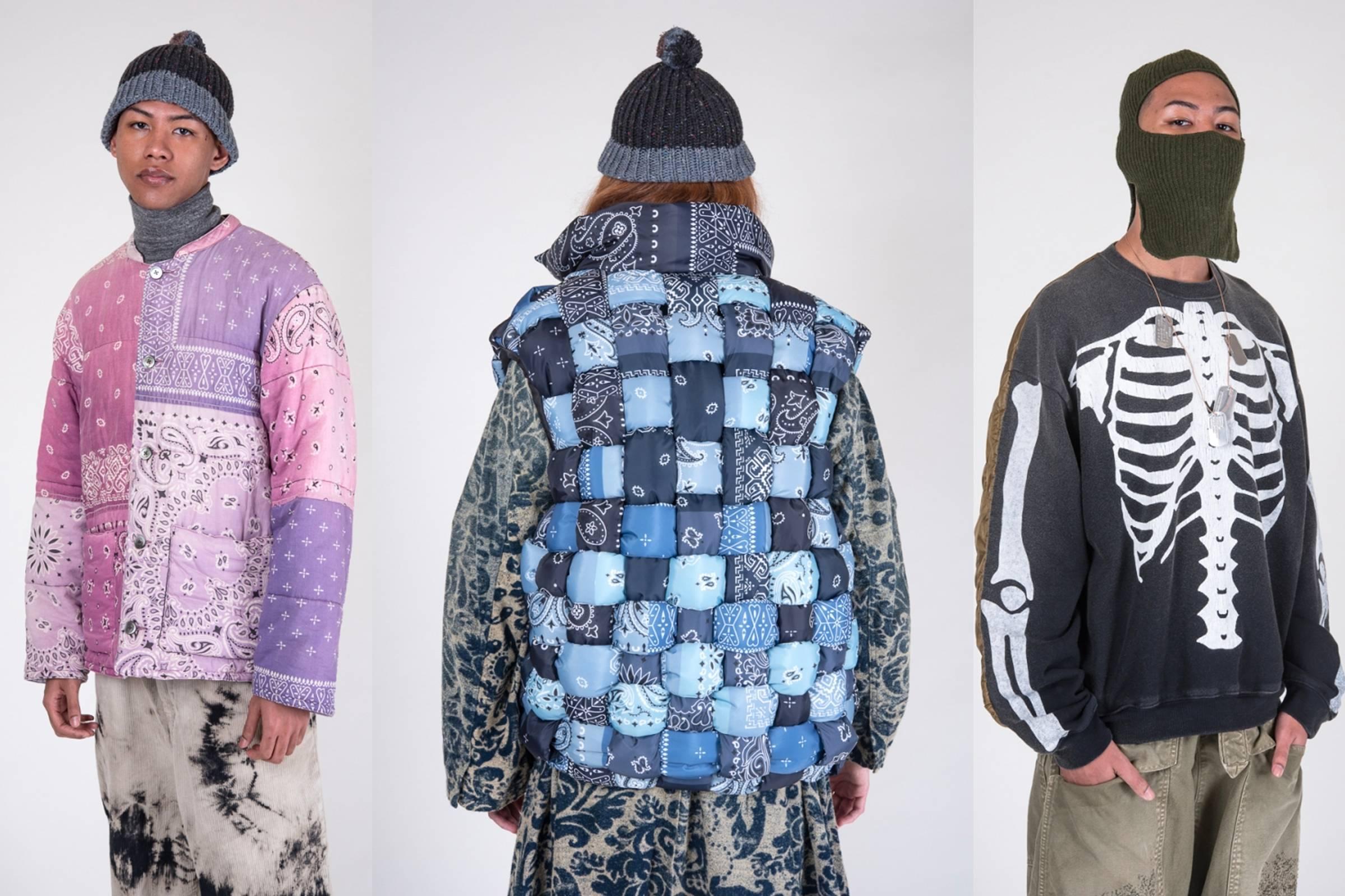 Looks from Kapital's Fall/Winter 2019 Lookbook