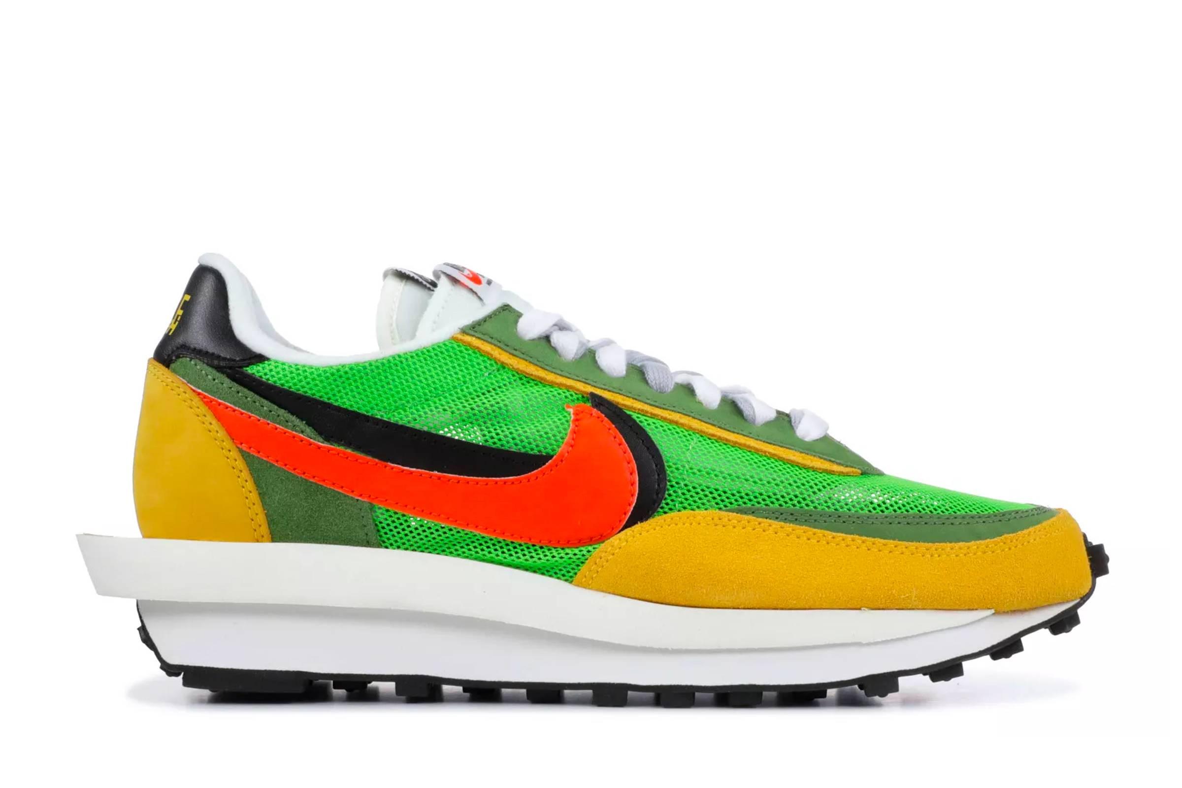 "Sacai x Nike LD Waffle ""Green Gusto"""