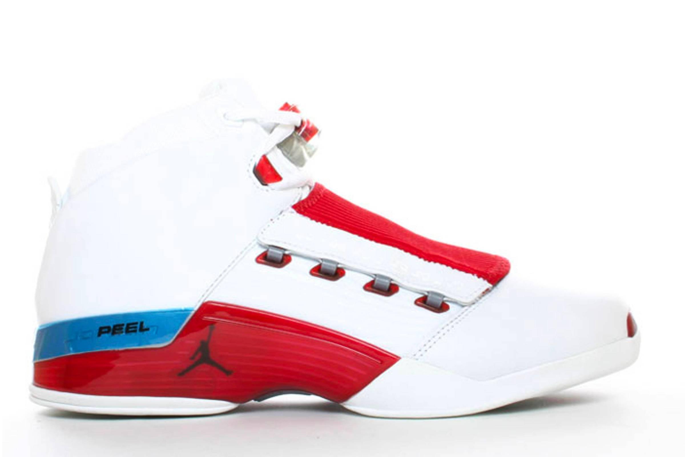 "Jordan XVII ""White/Varsity Red"""