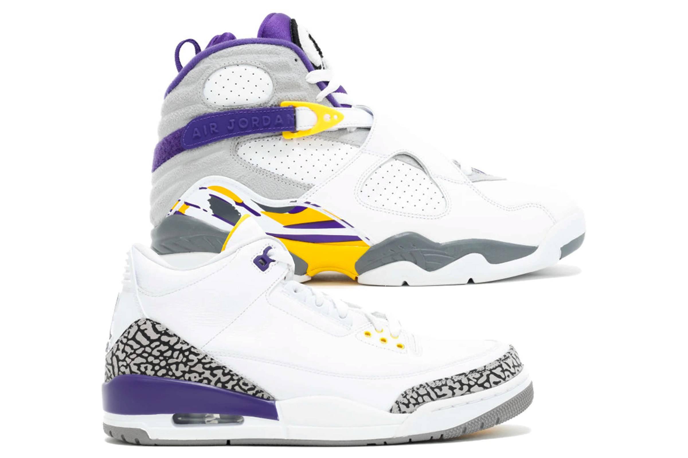 """Air Jordan III & VIII """"Kobe Pack"""""""