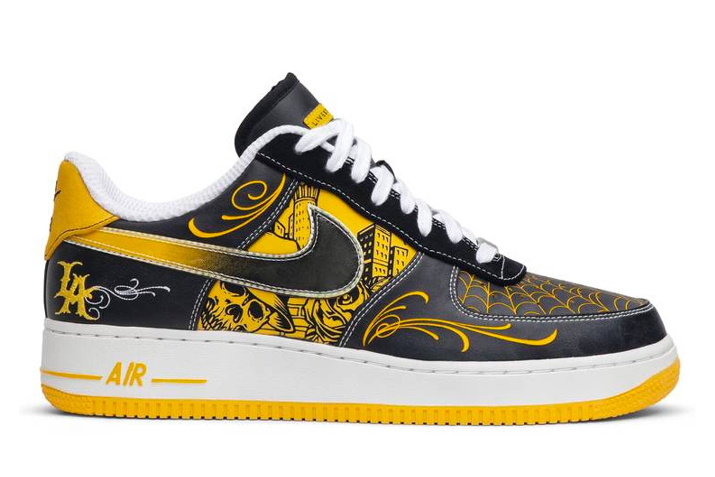 "Livestrong x Nike Air Force 1 Supreme ""Mr. Cartoon"""