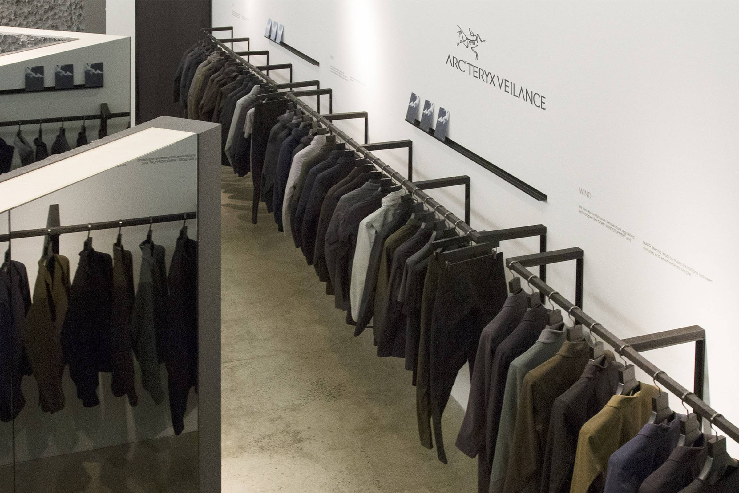 Arc'teryx Veilance's (now closed) New York City Concept Store