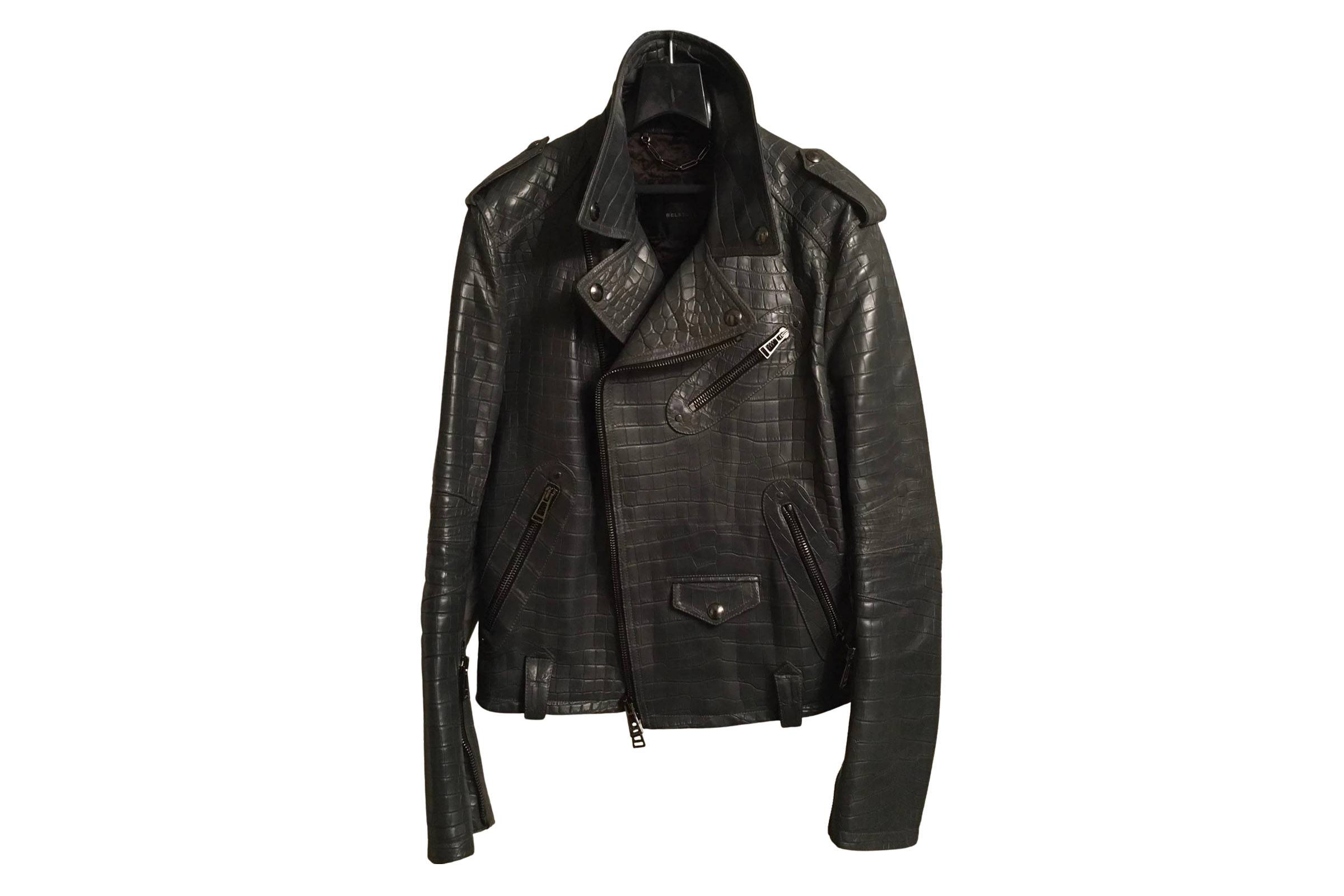 Belstaff Fall 2012 Crocodile Motorcycle Jacket
