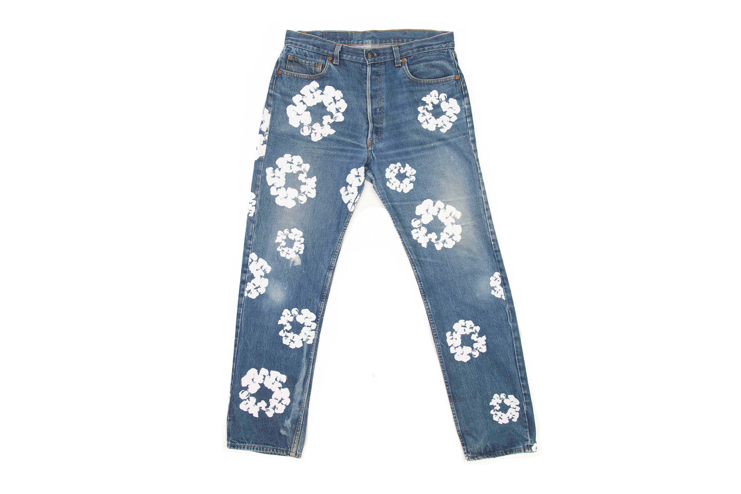 Denim Tears x Levi's Cotton Wreath 501 Denim