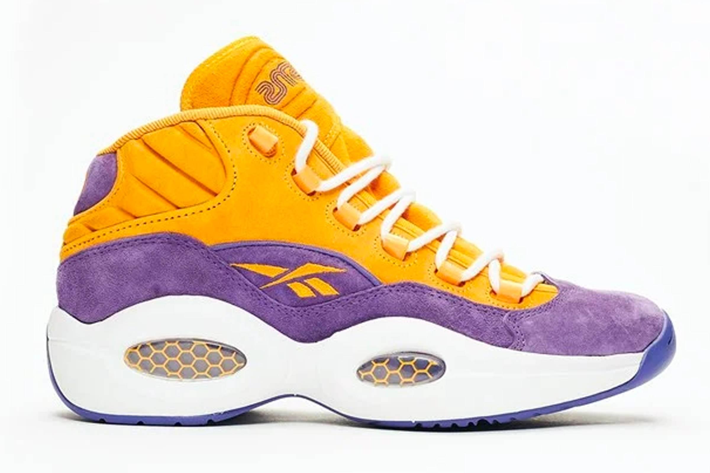 """Sneakersnstuff x Reebok Question Mid """"Crocus"""""""