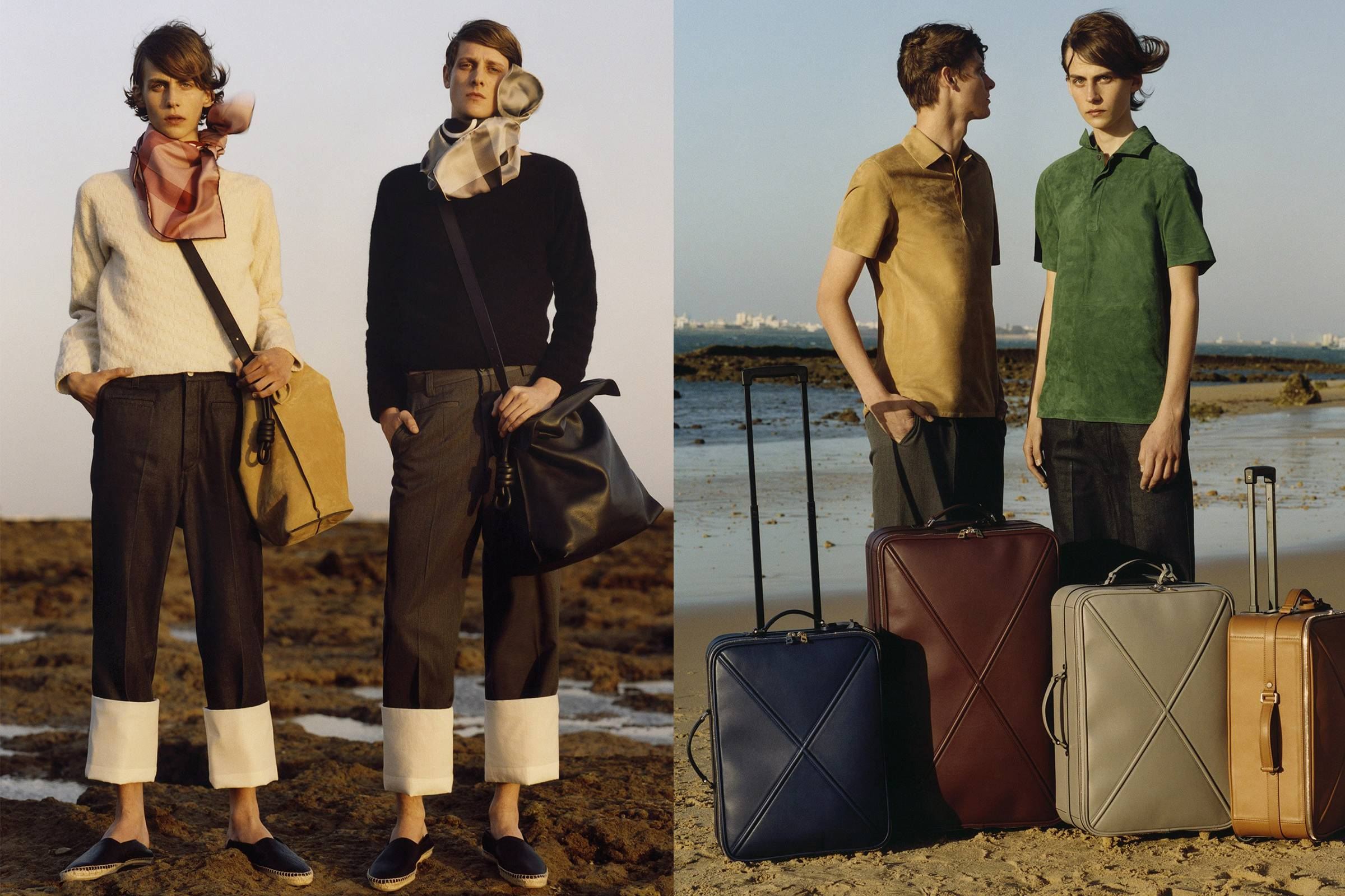 Loewe Spring/Summer 2015 Menswear collection by Jonathan Anderson