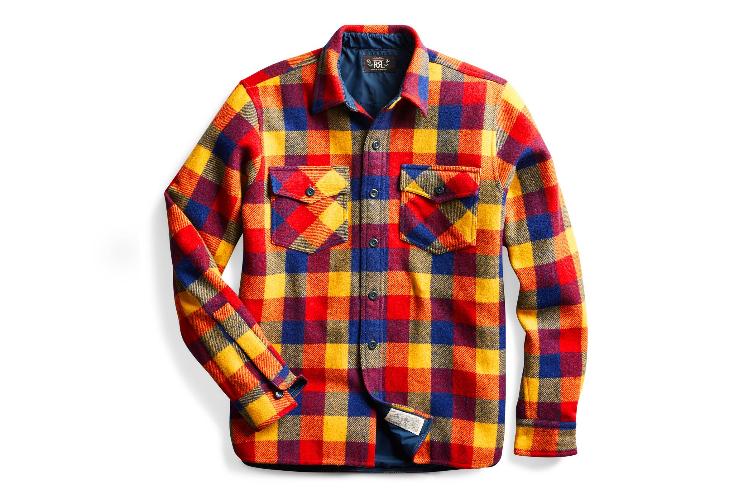 7. RRL Overshirt