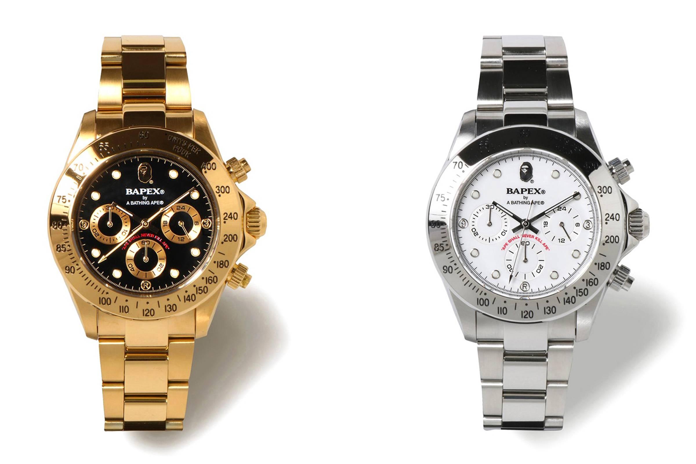 BAPE Bapex watch