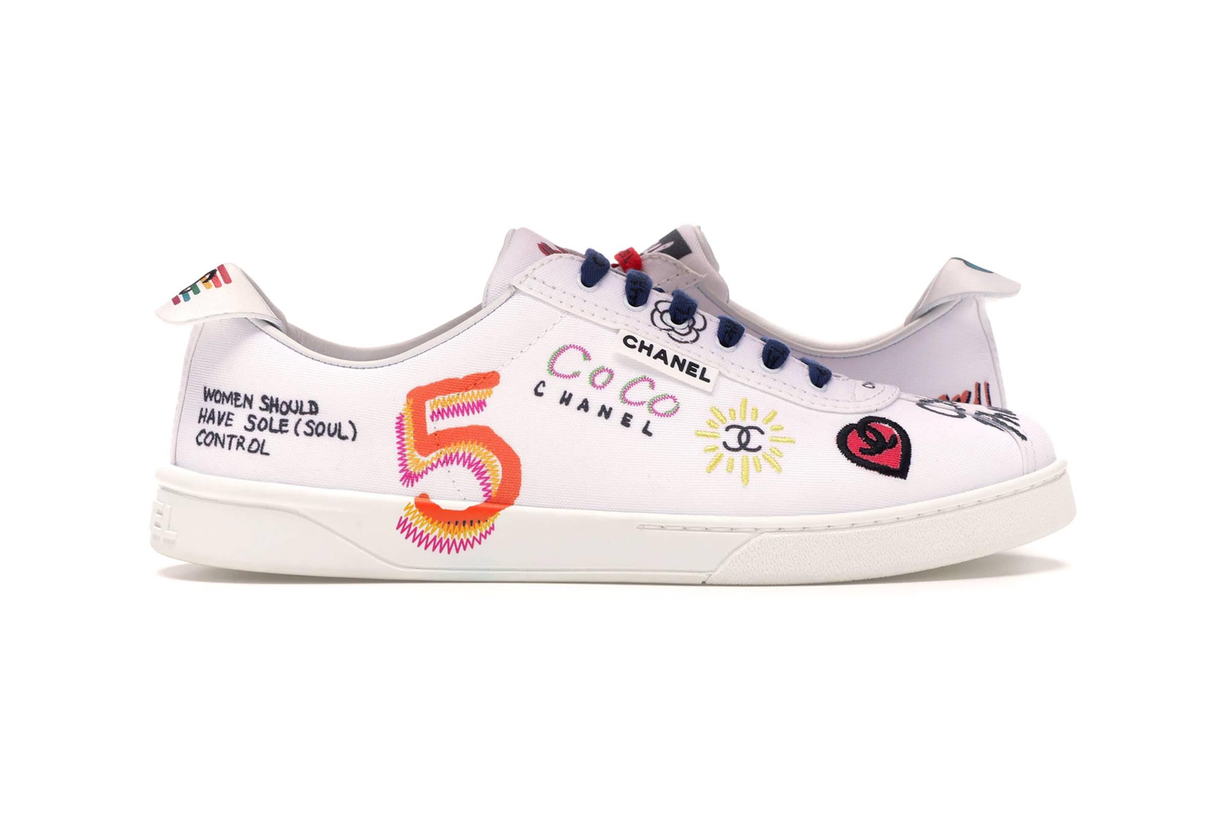 Pharrell x Chanel Sneakers