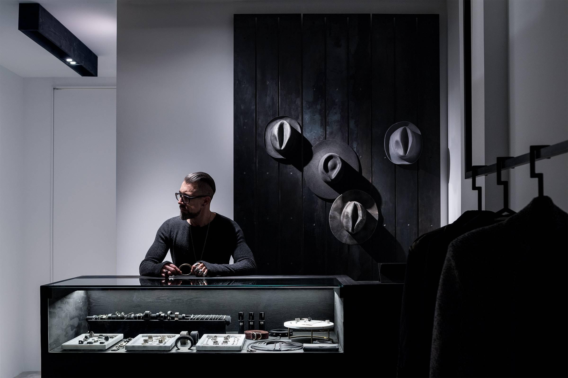 Chicago's Avant-Garde Guardian: Gallery Aesthete's Stephen Naparstek for Grailed
