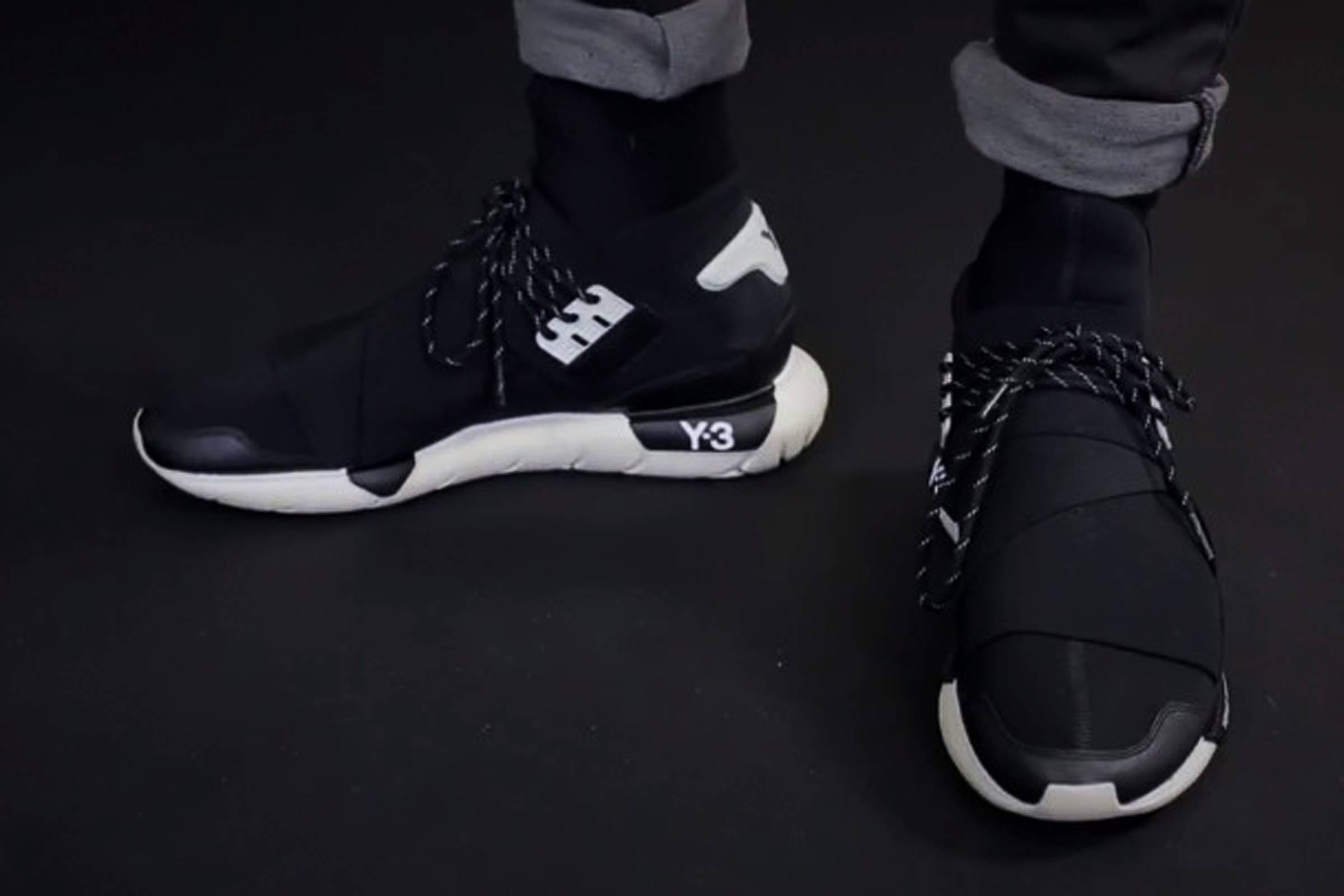 The first released iteration of the Y-3, debuting during the Fall/Winter 2013 season