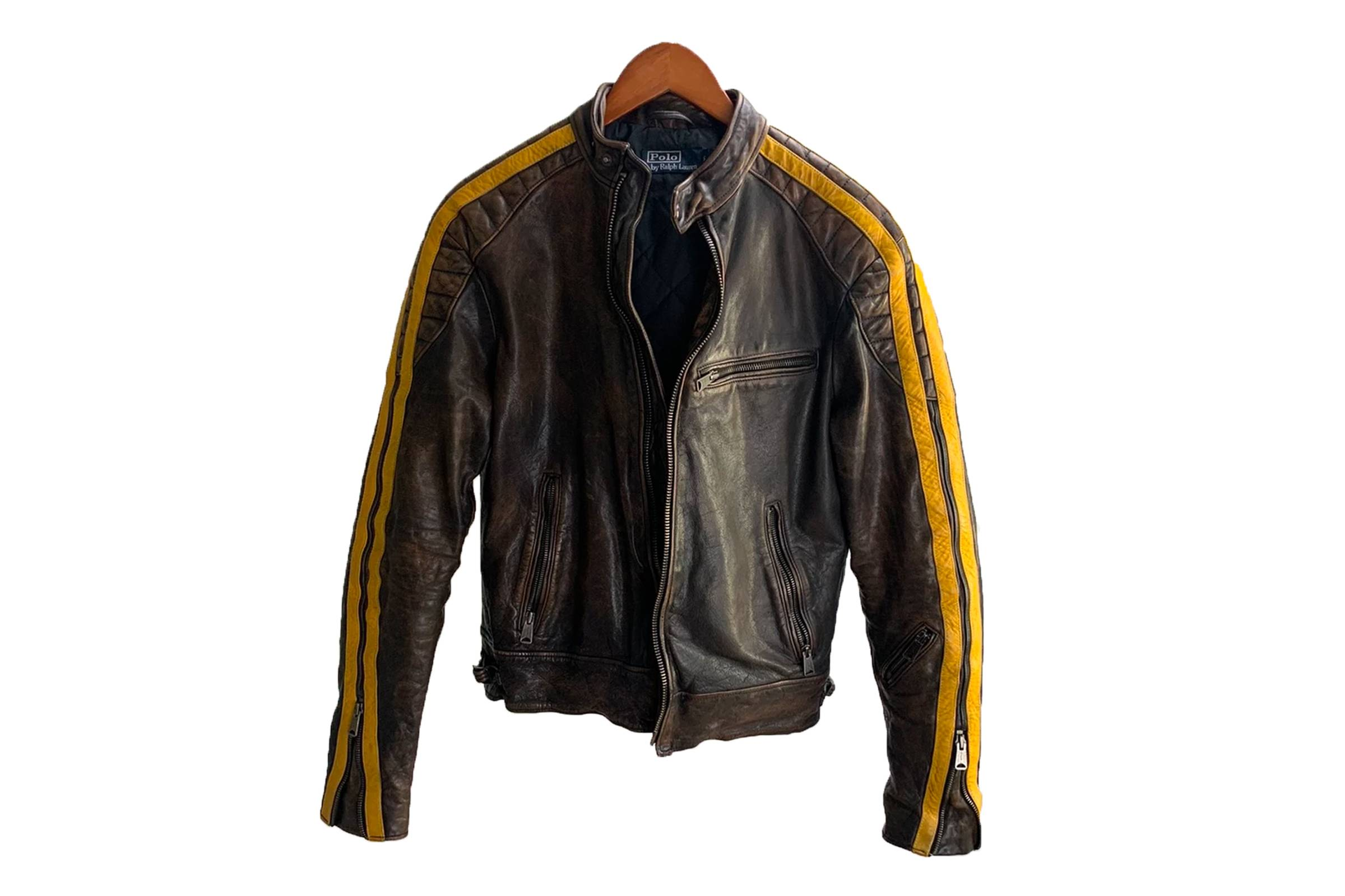 Polo Ralph Lauren Leather Racing Jacket