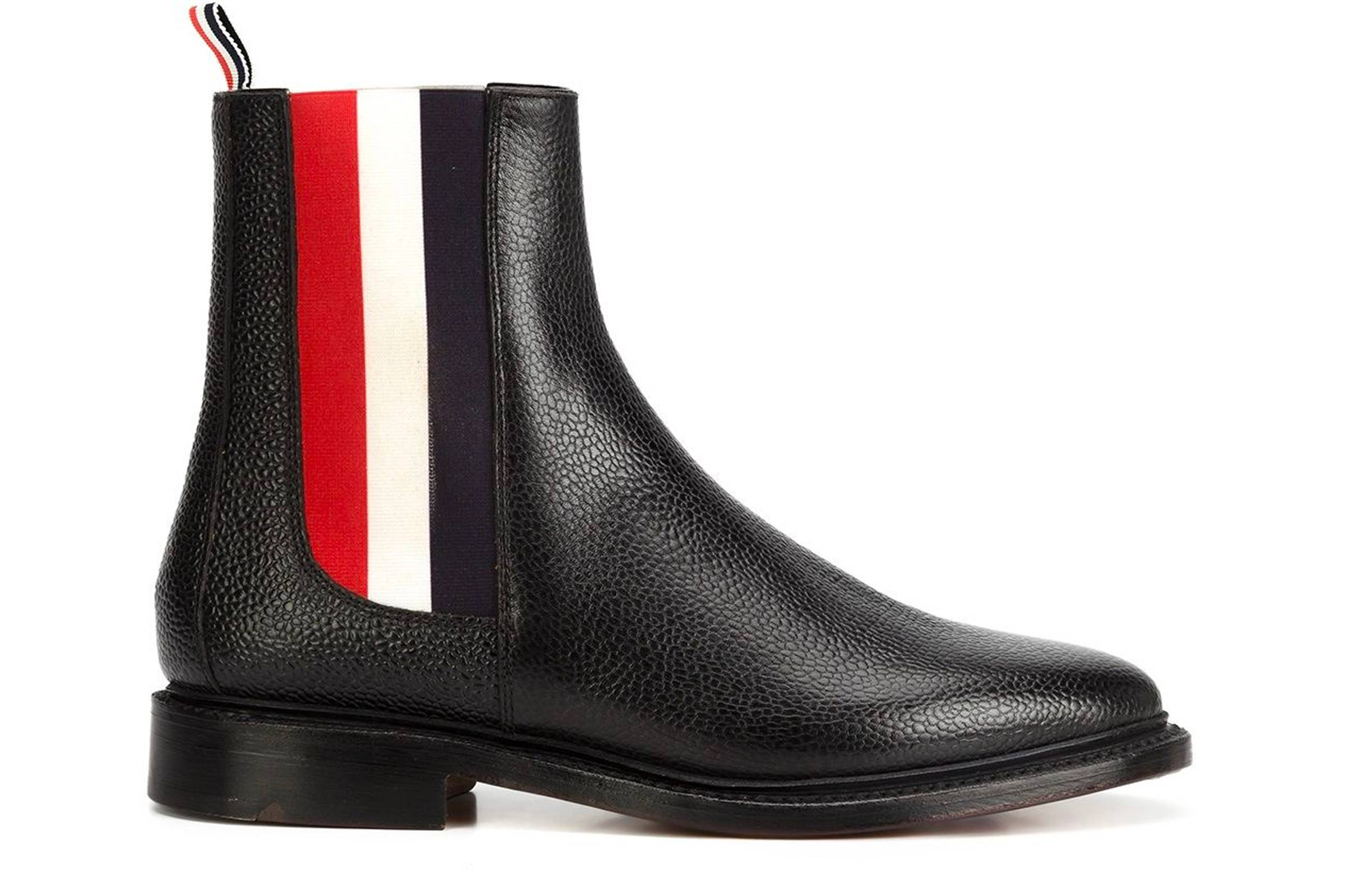 Thom Browne Tricolor Chelsea Boot