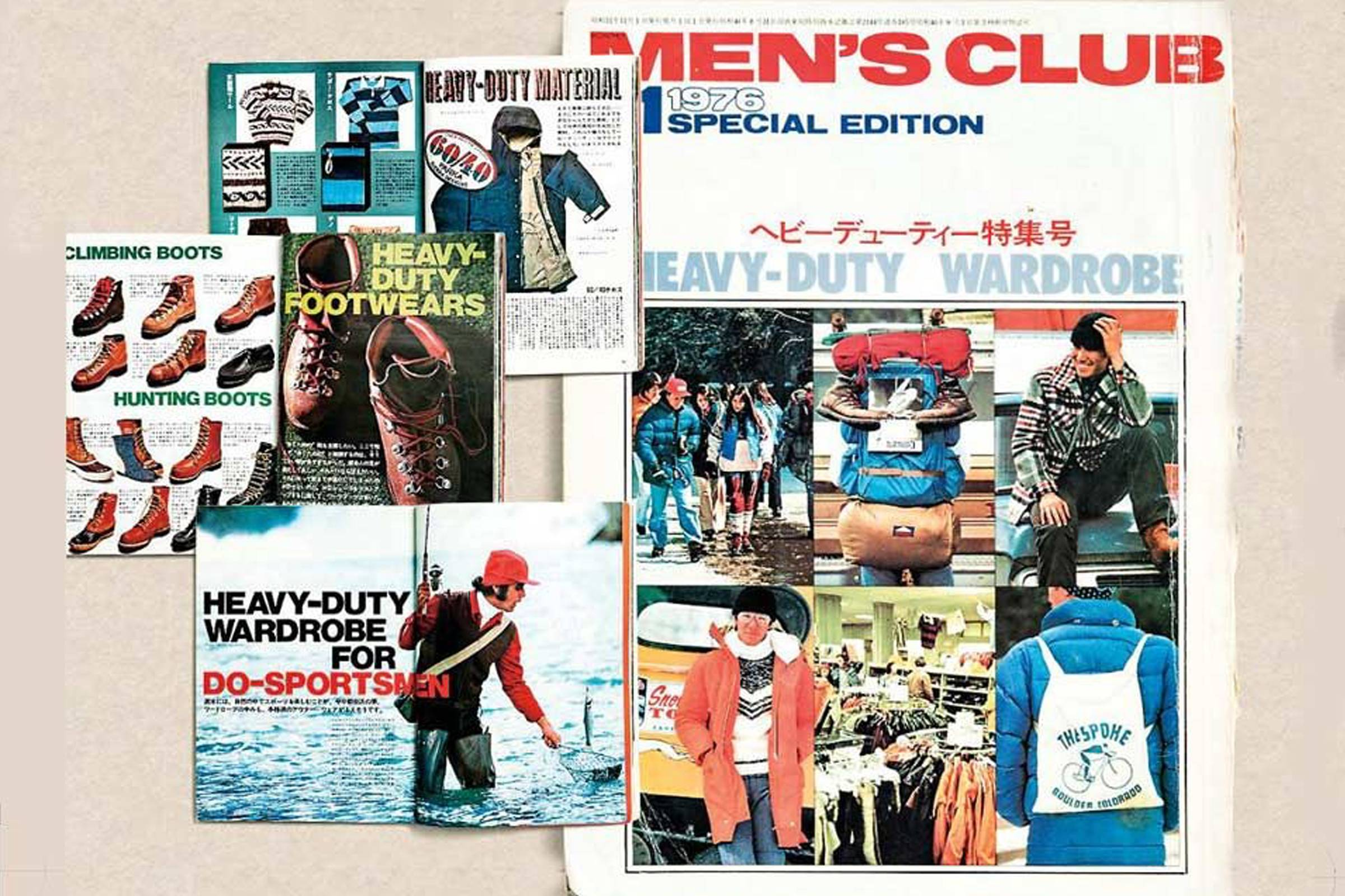"""Heavy Duty Ivy"" as shown in a 1976 issue of ""Men's Club"""