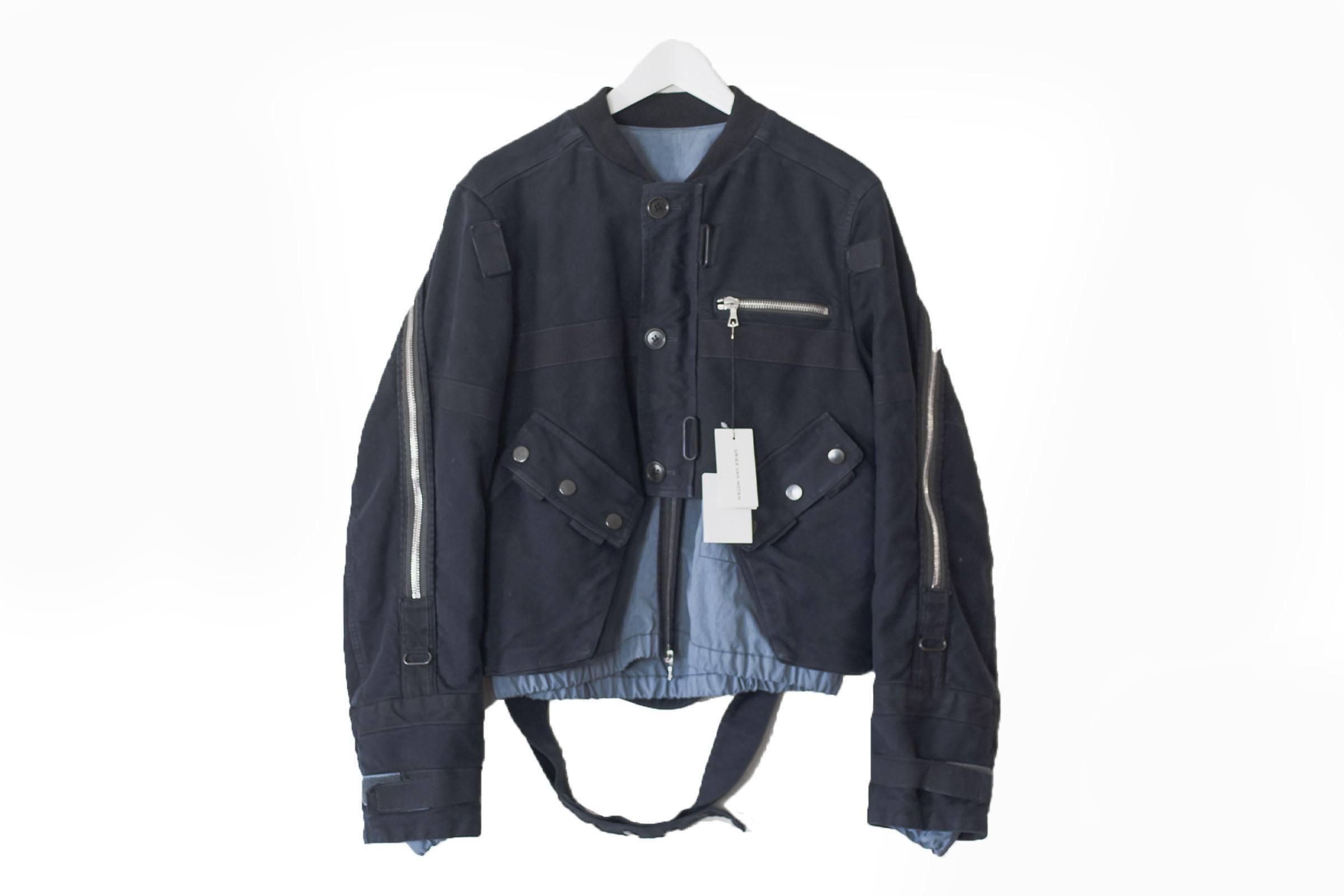Dries Van Noten Fall/Winter 2014 Back Zip Bomber Jacket