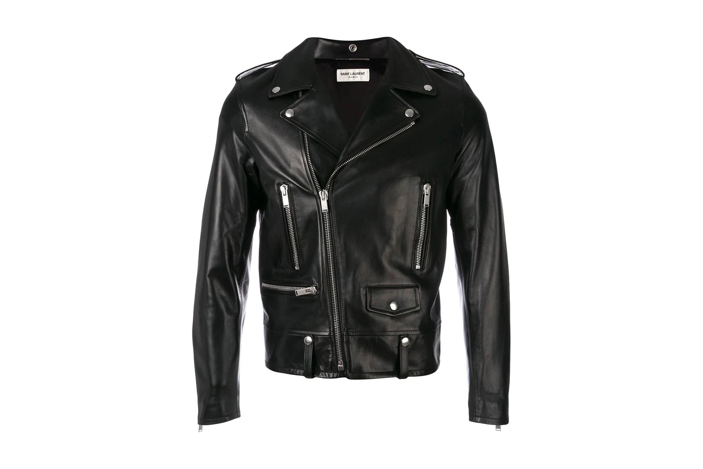 Saint Laurent L01 Biker Jacket Lamb Jacket