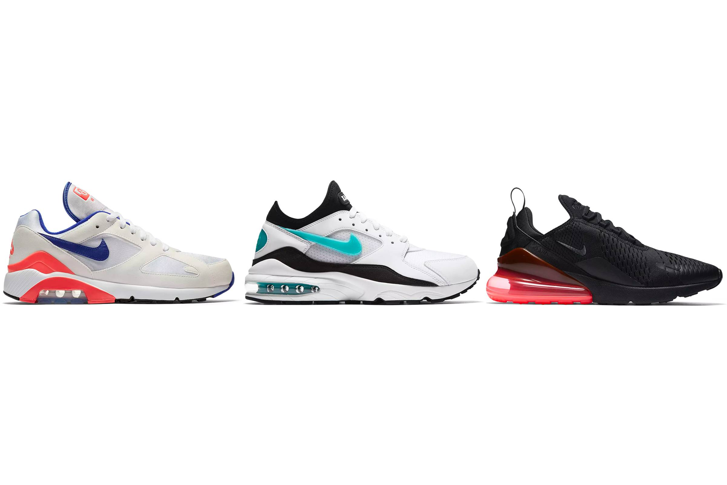a8495c15c924 Degrees of Air  The Evolution of the Air Max Heel Unit - Air Max 180 ...