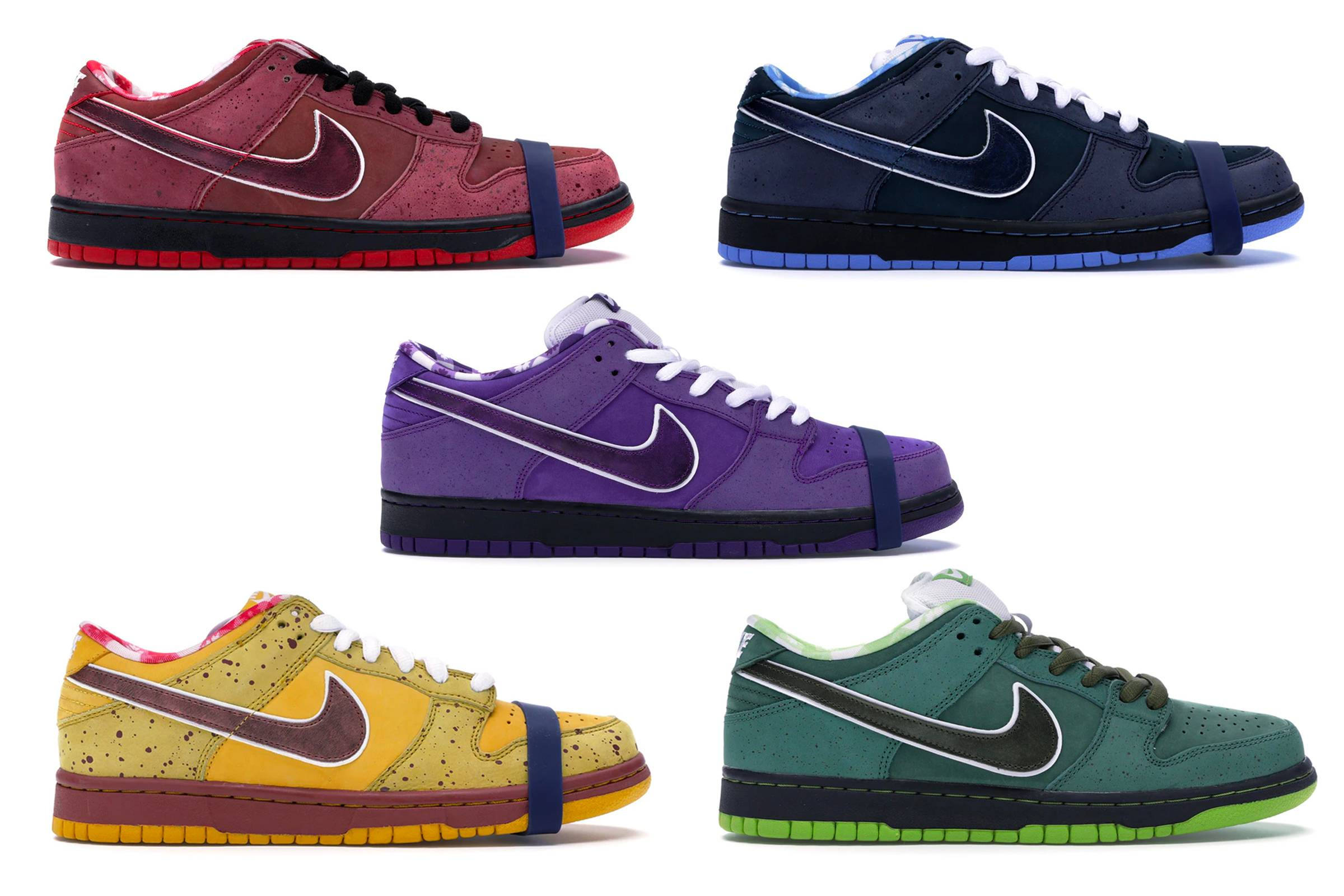 """Concepts x Nike SB Dunk Low """"Lobster"""" Series"""