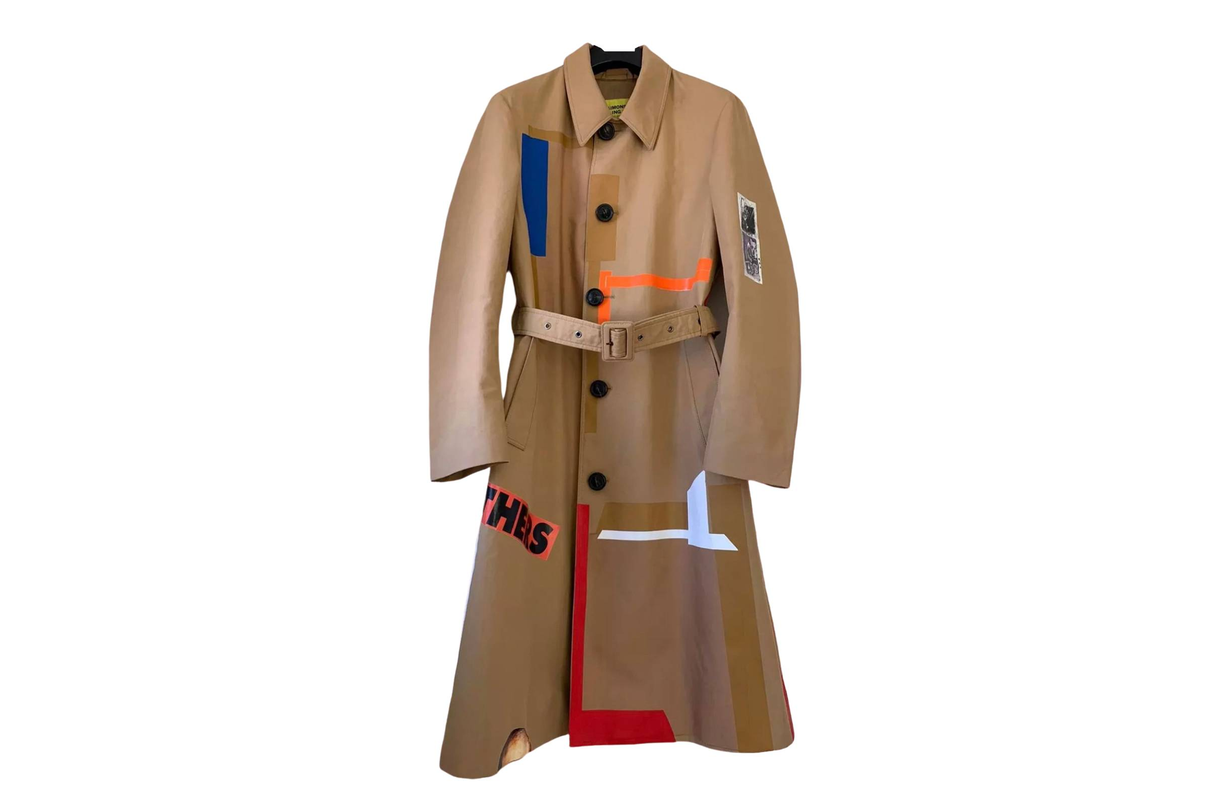Raf Simons Sterling Ruby Trench Coat