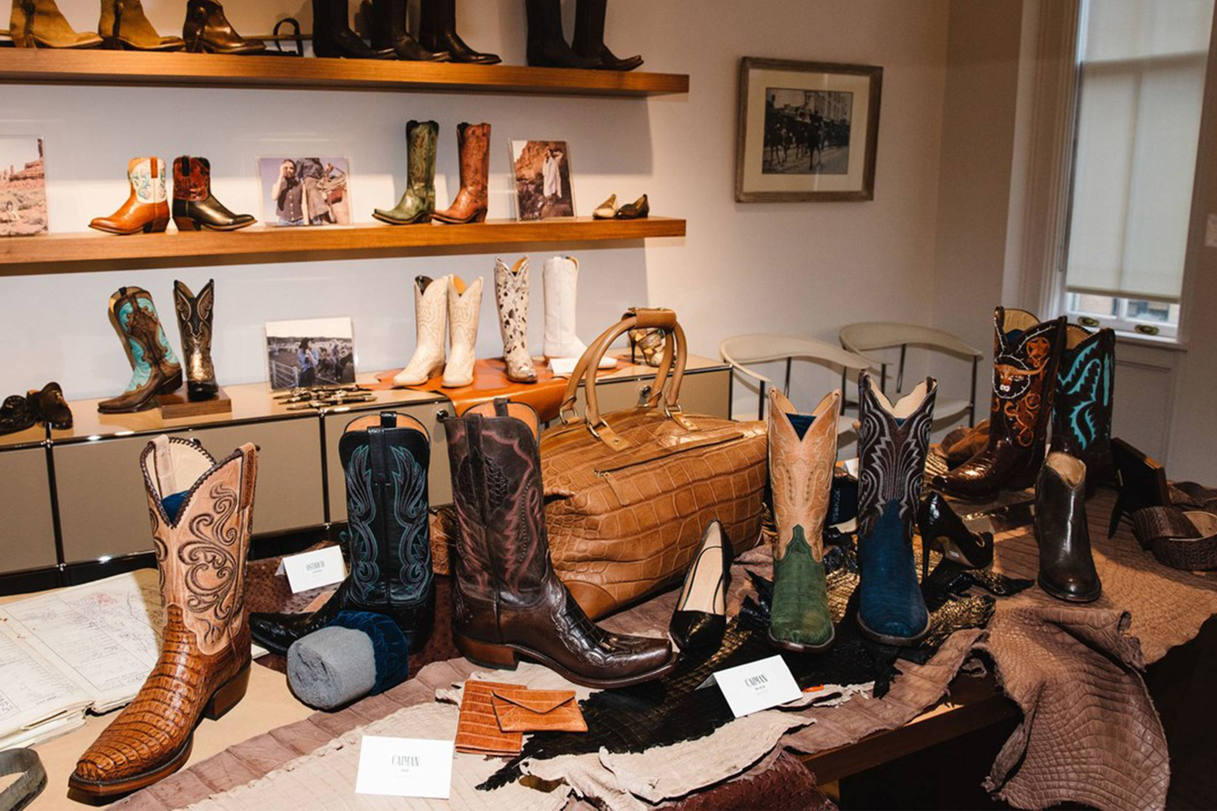 Lucchese trunk show for Fall/Winter 2017