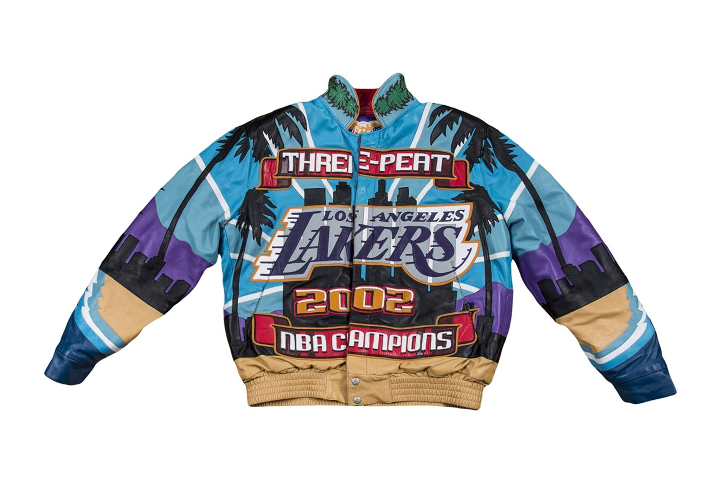 "Jeff Hamilton 2002 Lakers ""Three-Peat"" Jacket"