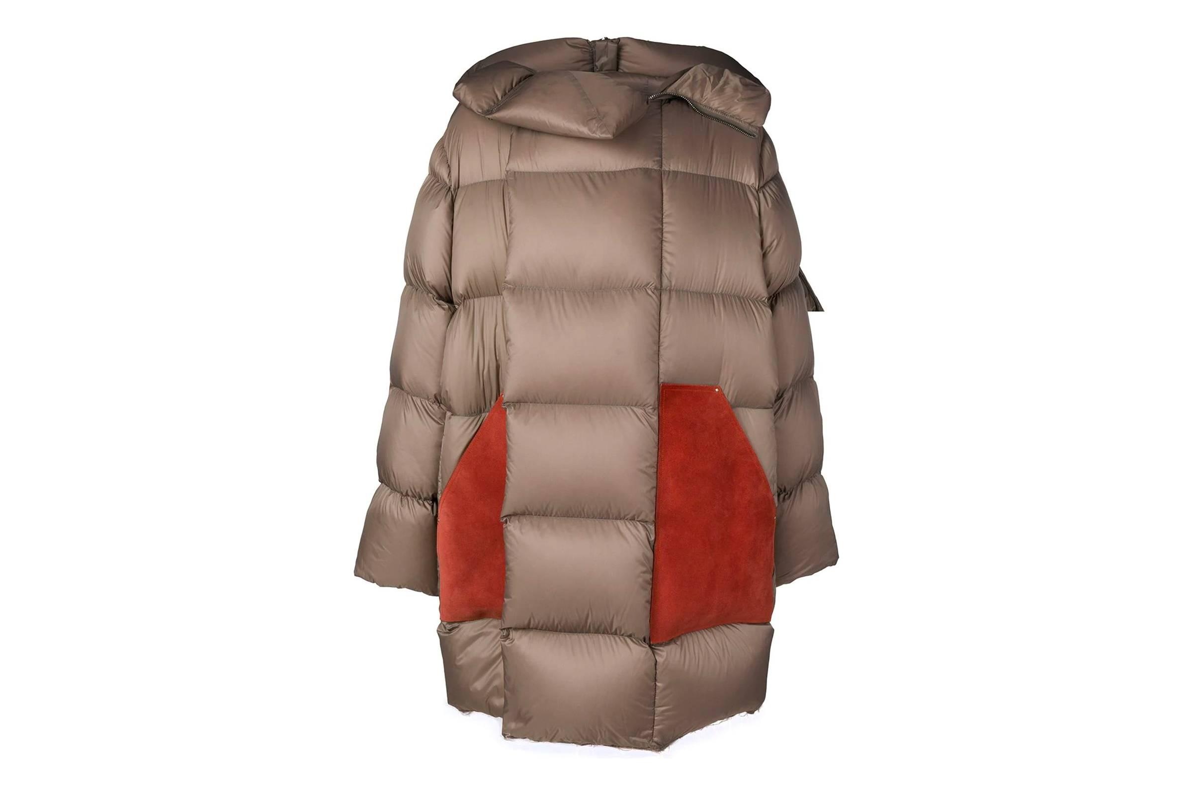 Rick Owens Glitter Puffer Jacket