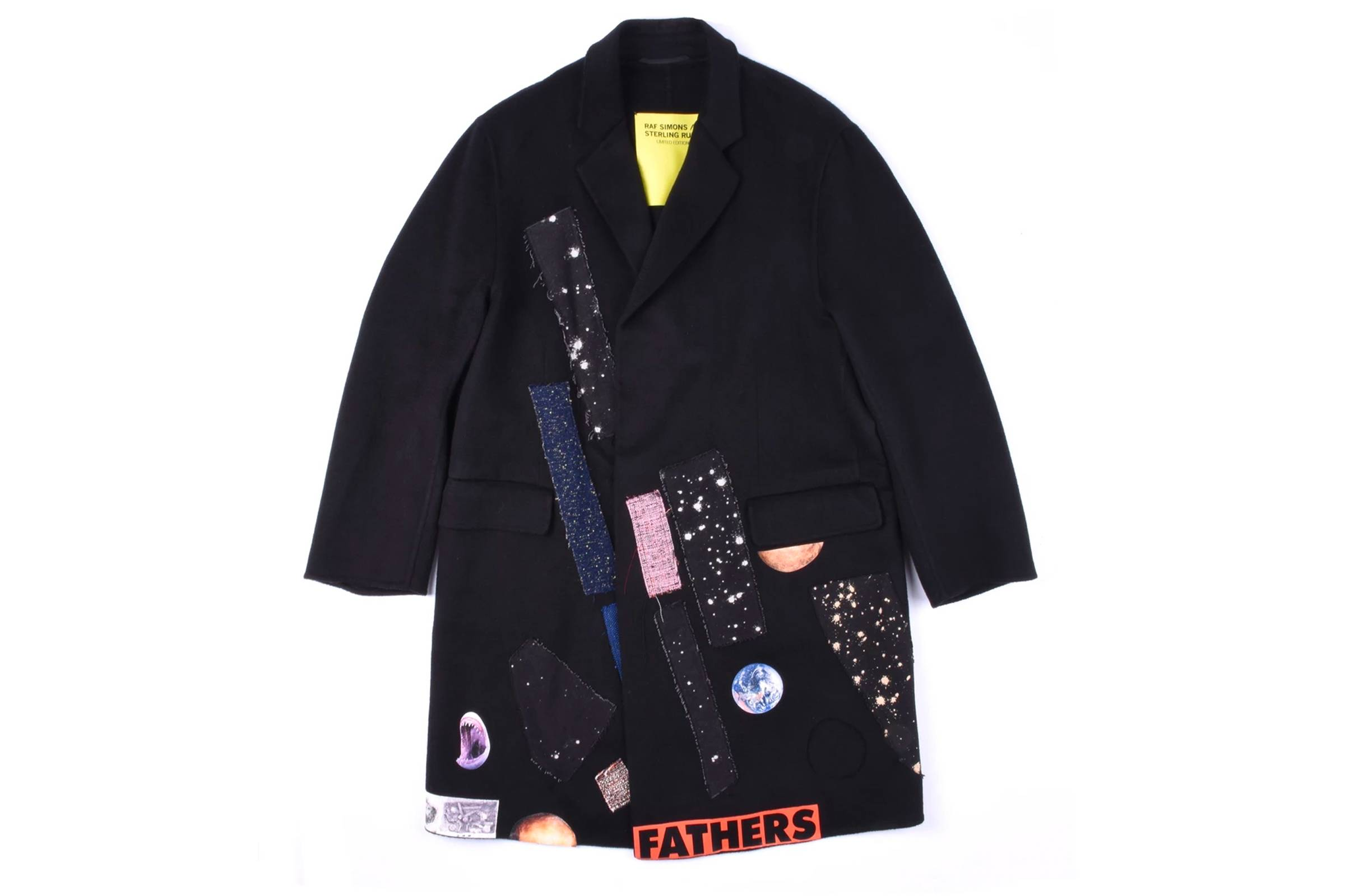 Raf Simons x Sterling Ruby Cashmere Coat